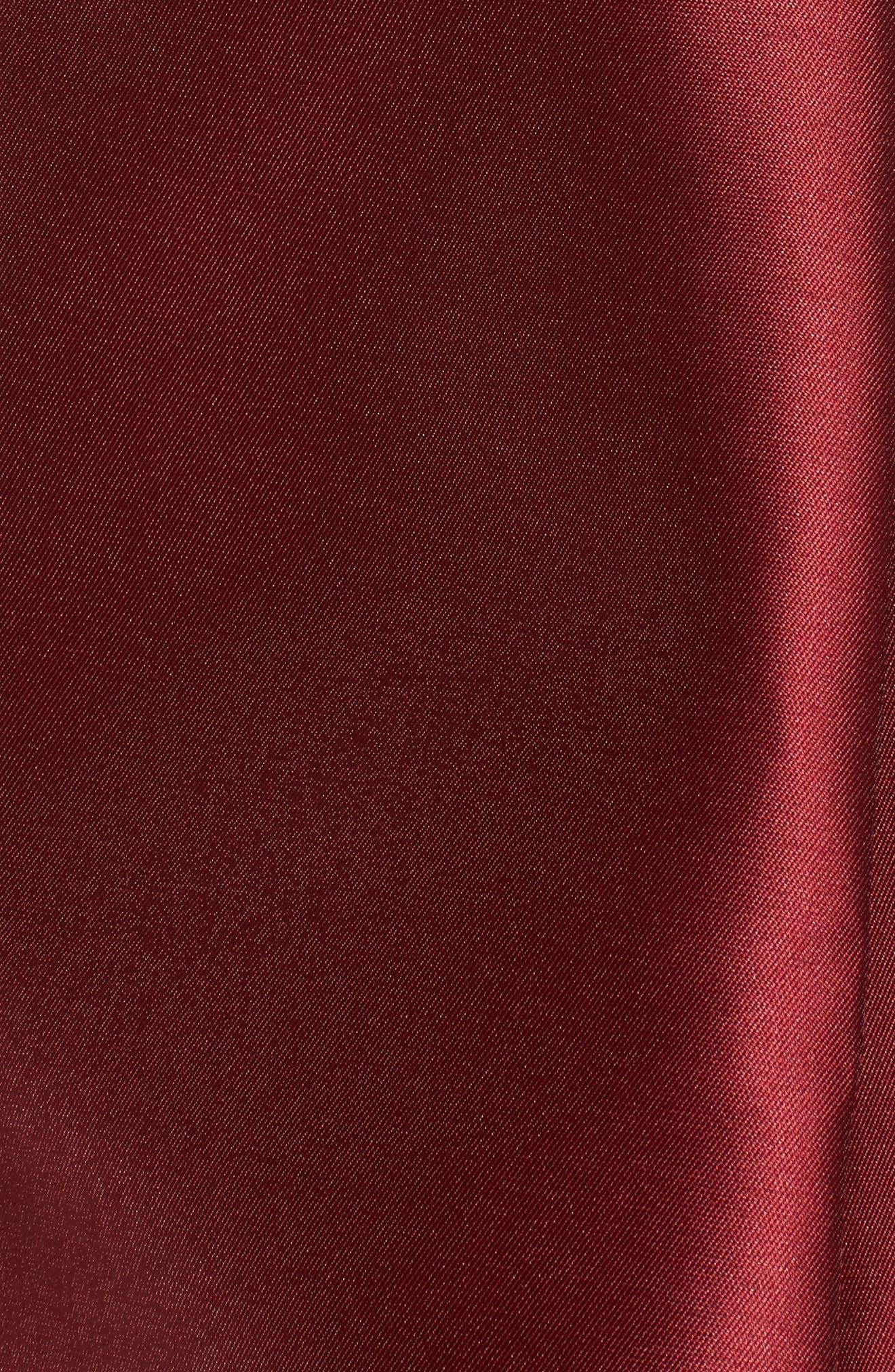 Pleated Mikado Skirt,                             Alternate thumbnail 5, color,                             610
