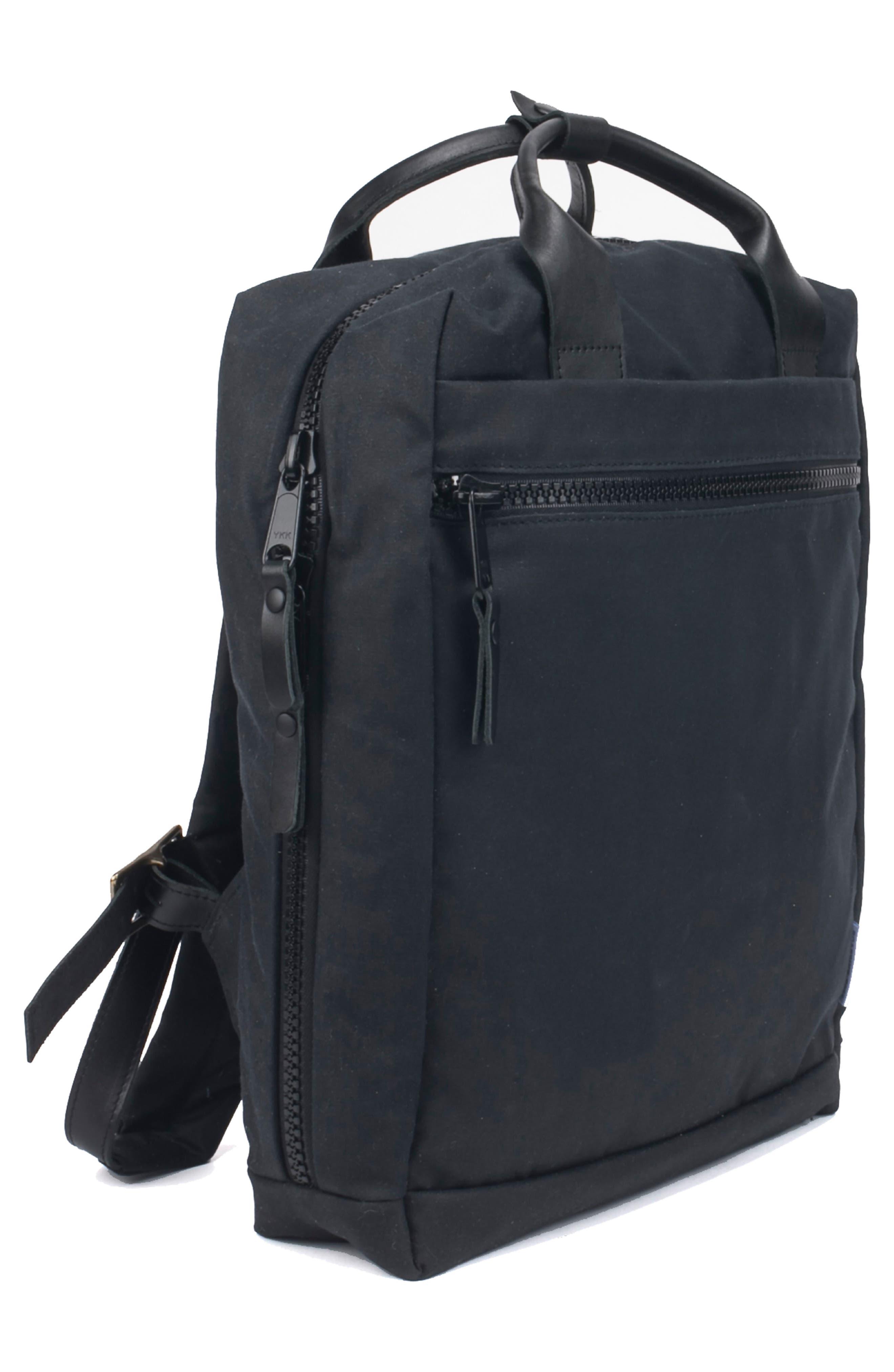 Metro Backpack,                             Alternate thumbnail 4, color,                             BLACK