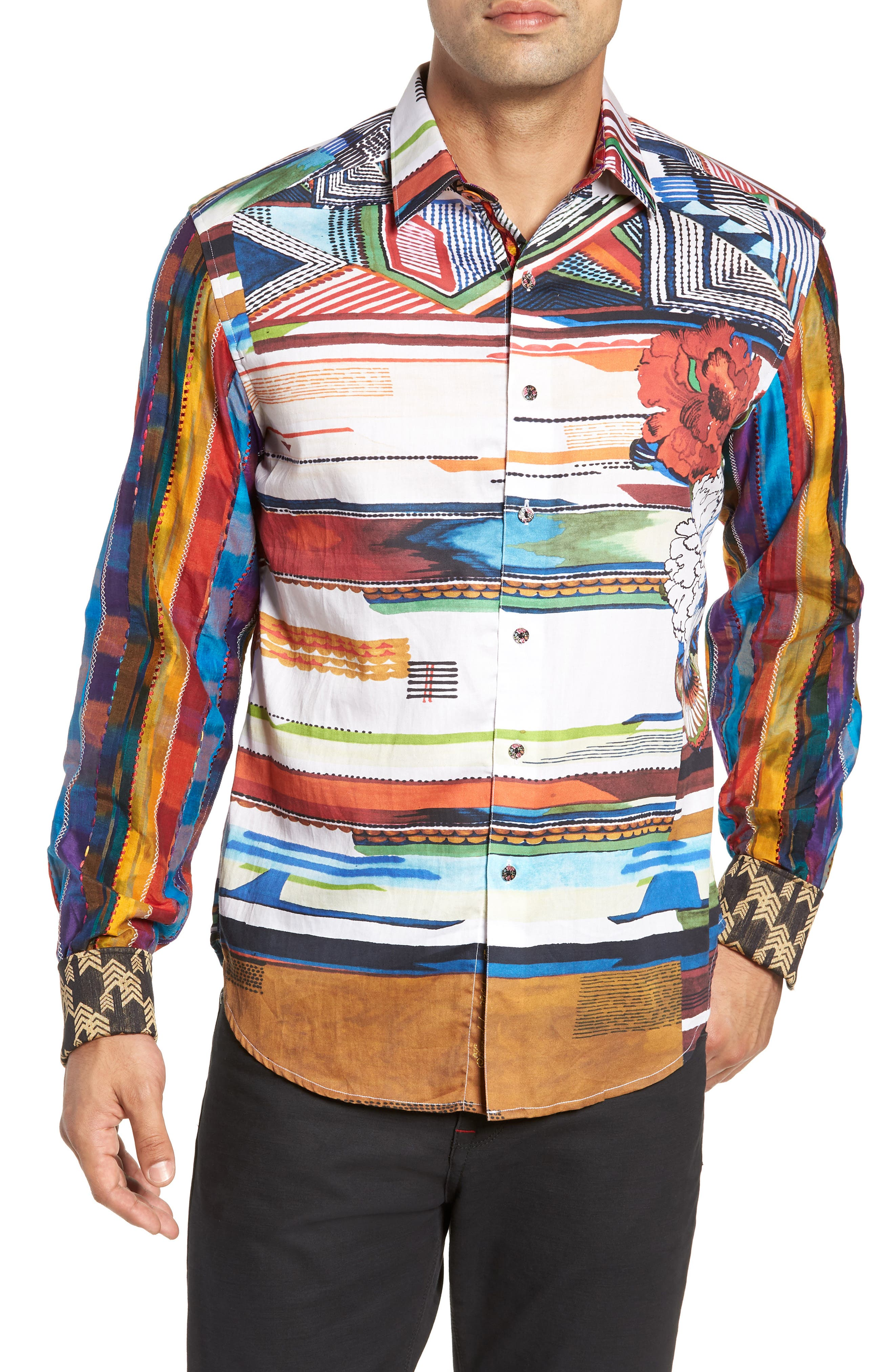Nachostrong Limited Edition Classic Fit Sport Shirt,                             Main thumbnail 1, color,                             MULTI