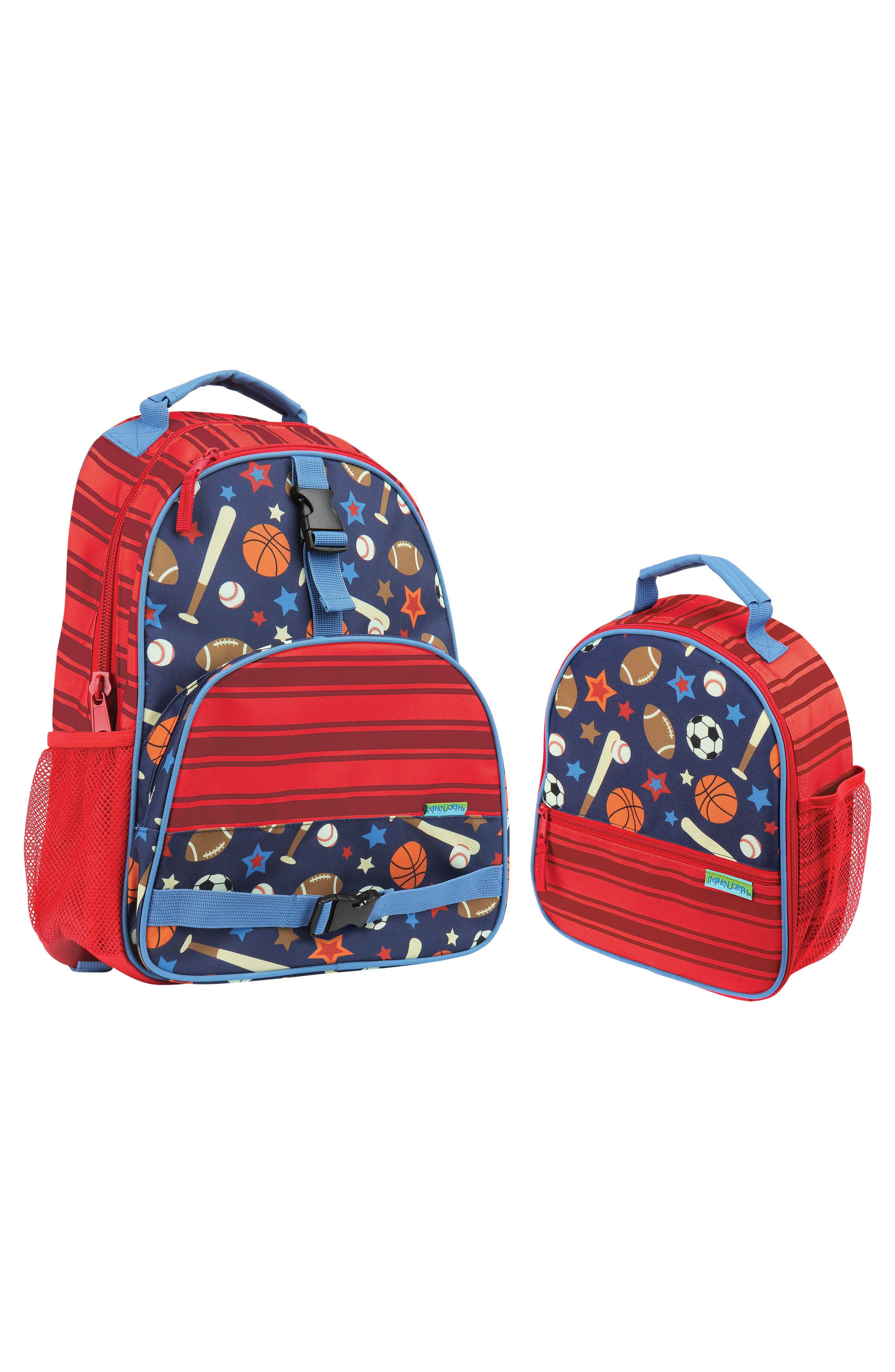 STEPHEN JOSEPH Sports Backpack & Lunchbox, Main, color, SPORTS