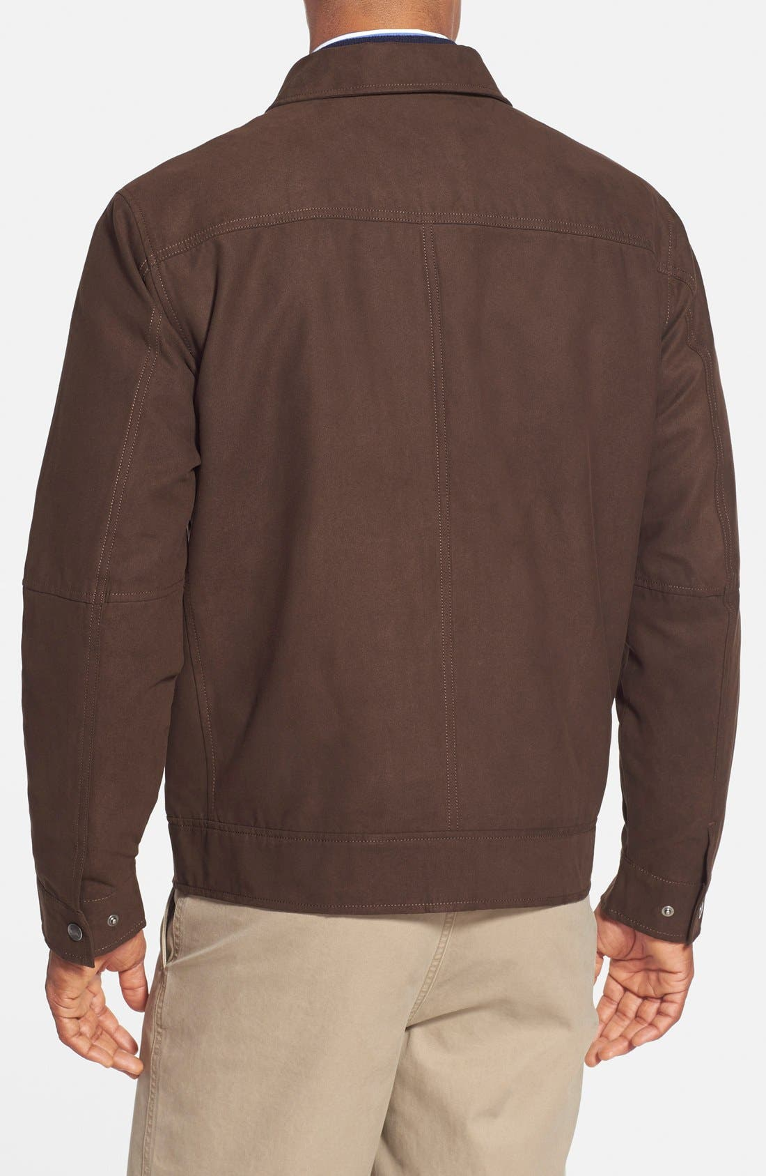 'Roosevelt' Classic Fit Water Resistant Full Zip Jacket,                             Alternate thumbnail 4, color,