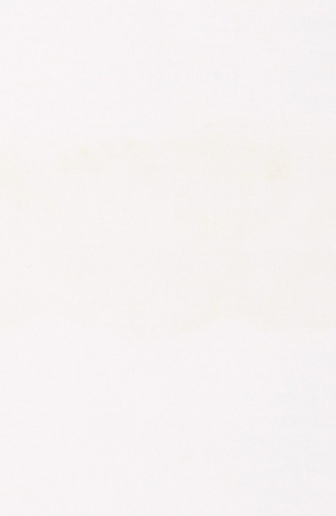 Solid Linen Pocket Square,                             Alternate thumbnail 4, color,                             100