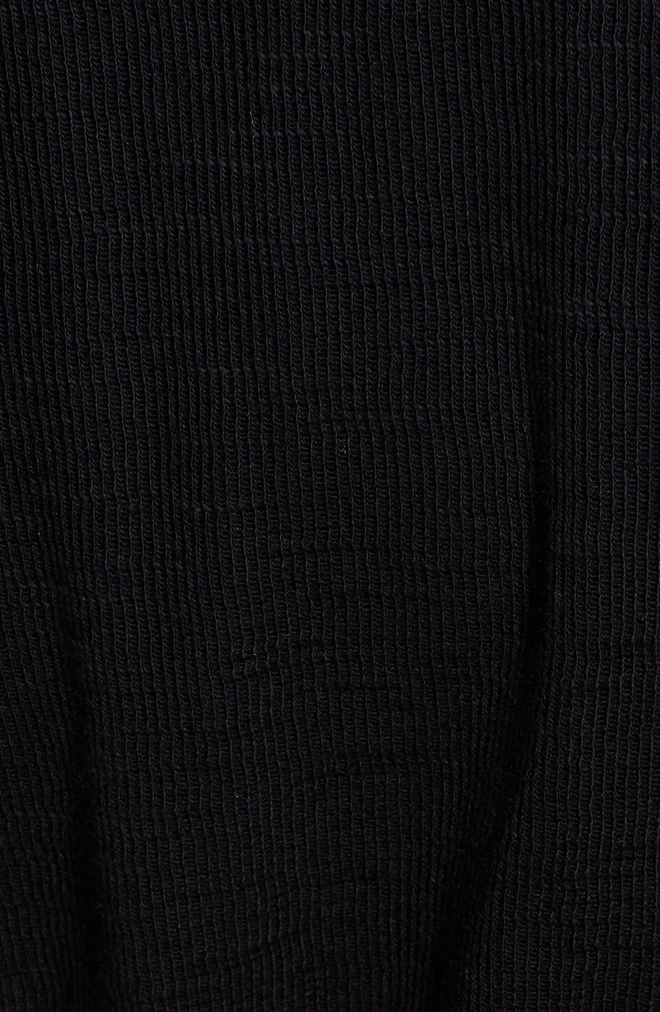CASLON<SUP>®</SUP>,                             Open Front Hooded Cardigan,                             Alternate thumbnail 7, color,                             BLACK