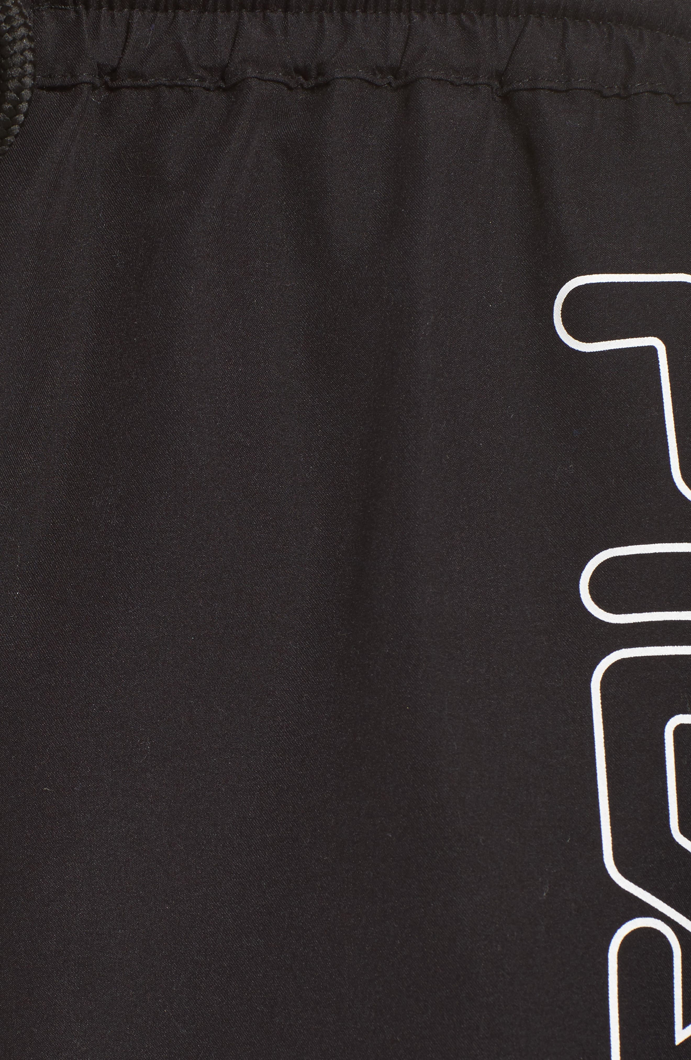 Conchetta Logo Shorts,                             Alternate thumbnail 5, color,                             001