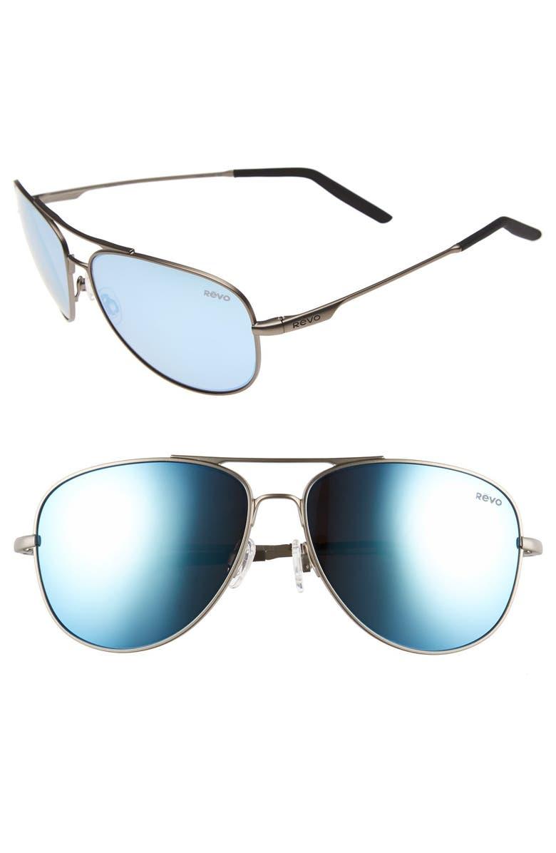 9ecb40dfa1 Revo  Windspeed  61mm Polarized Aviator Sunglasses