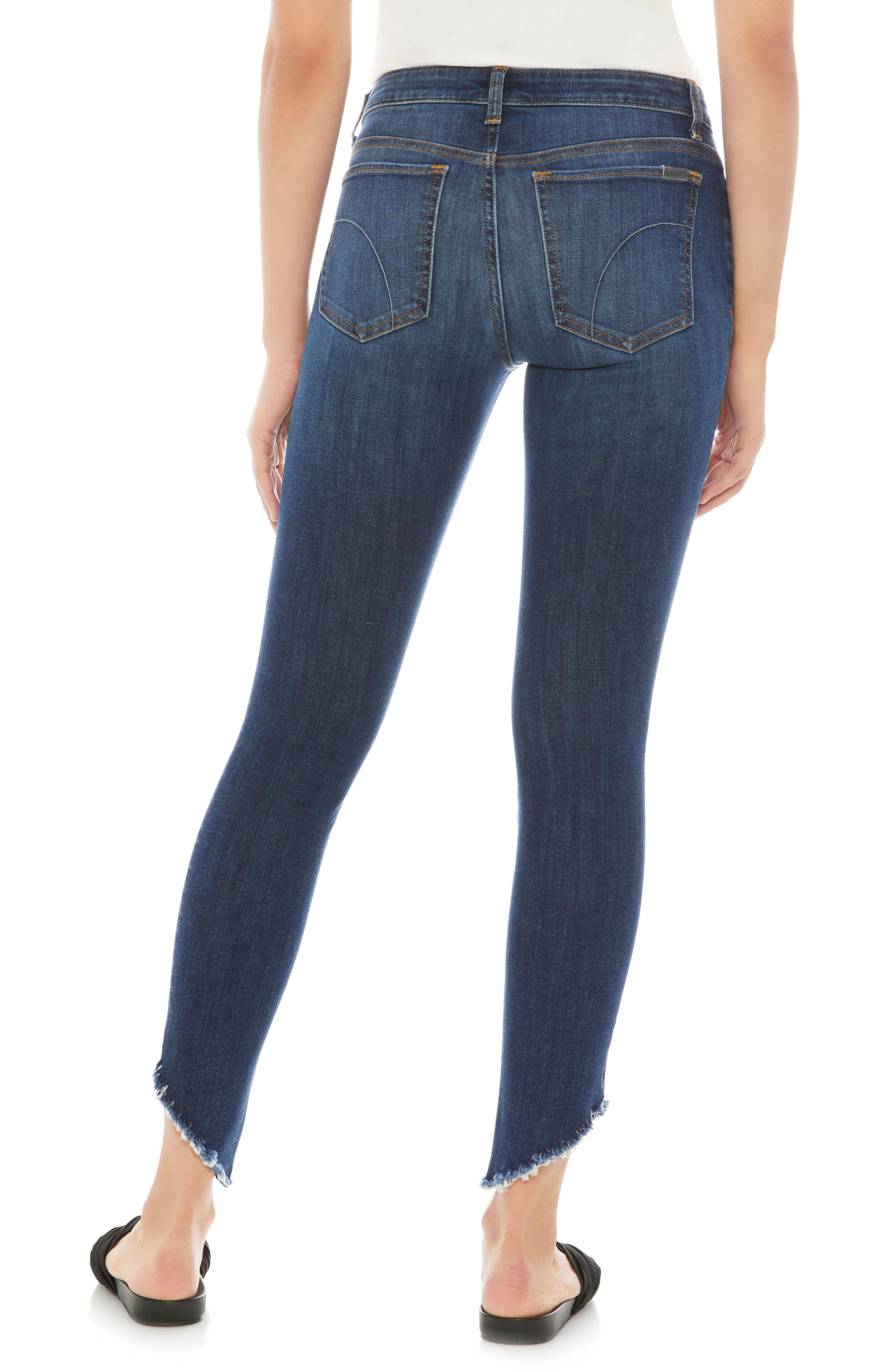 Flawless - Icon Ankle Skinny Jeans,                             Alternate thumbnail 2, color,                             LORNA