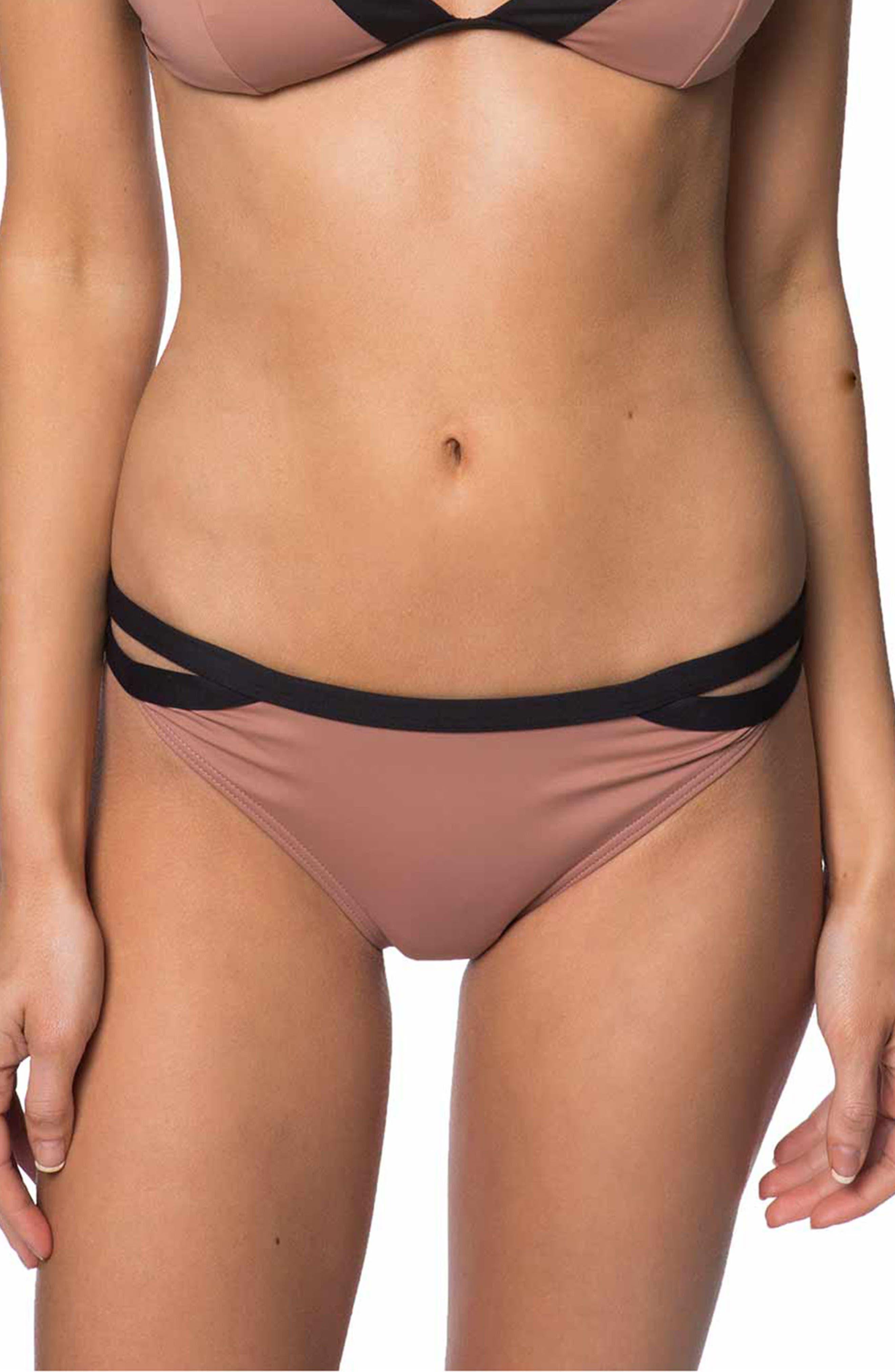 Coastal Block Bikini Bottoms,                         Main,                         color,