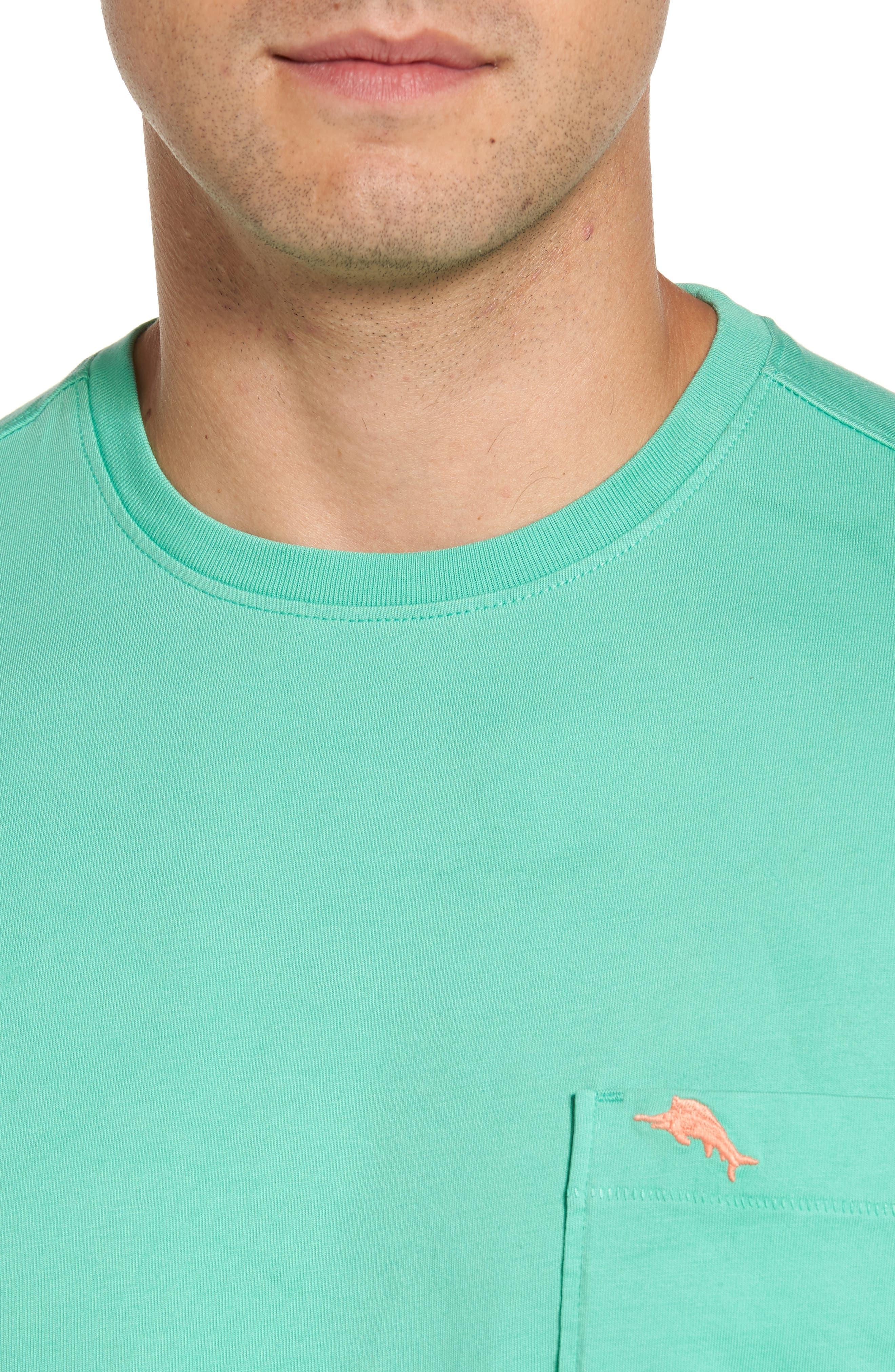 Bali Skyline Pocket T-Shirt,                             Alternate thumbnail 4, color,                             300