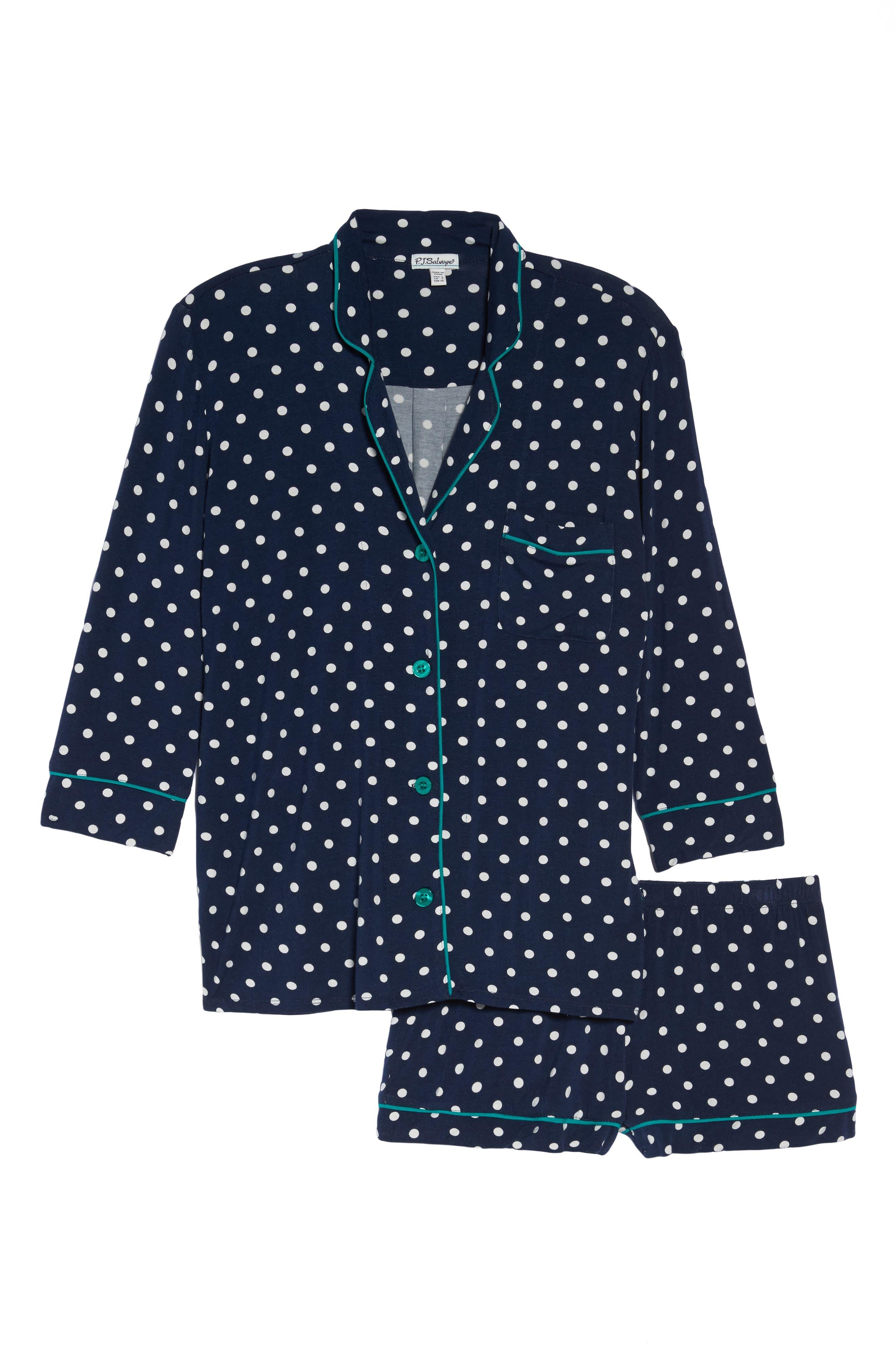 Short Pajamas,                             Alternate thumbnail 6, color,                             410