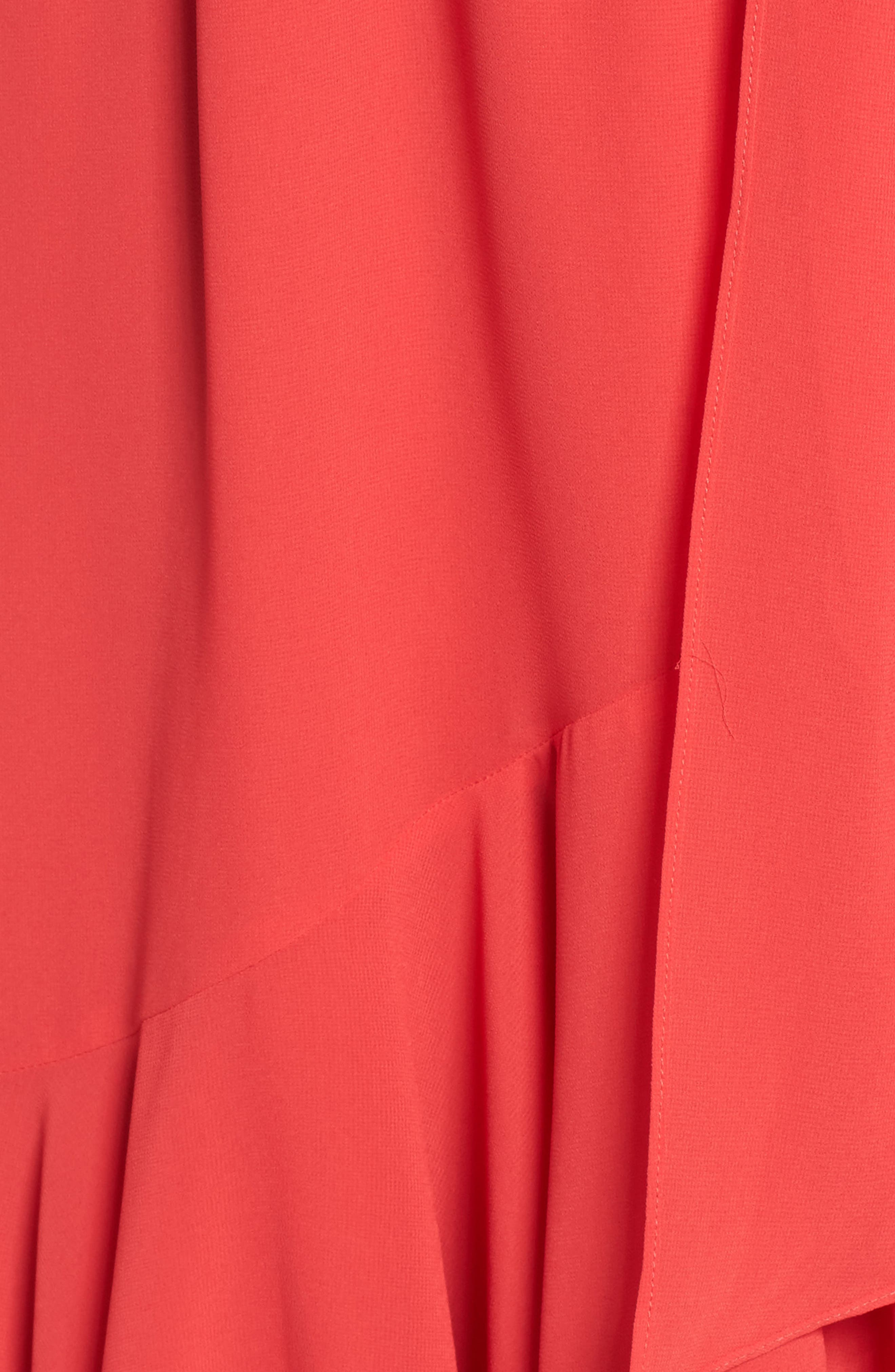 Cold Shoulder Dress,                             Alternate thumbnail 5, color,                             652