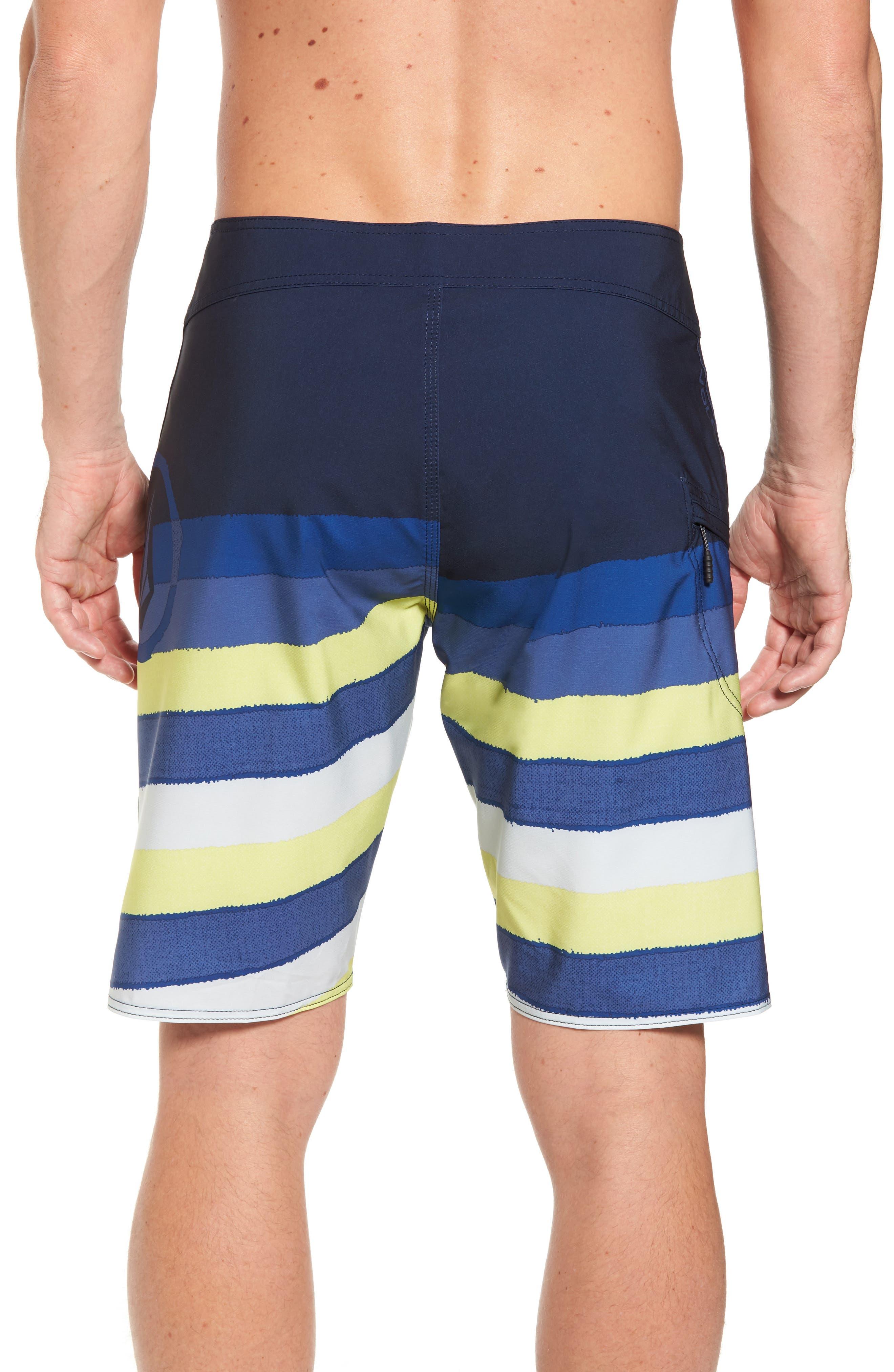 Lido Liney Mod Board Shorts,                             Alternate thumbnail 3, color,