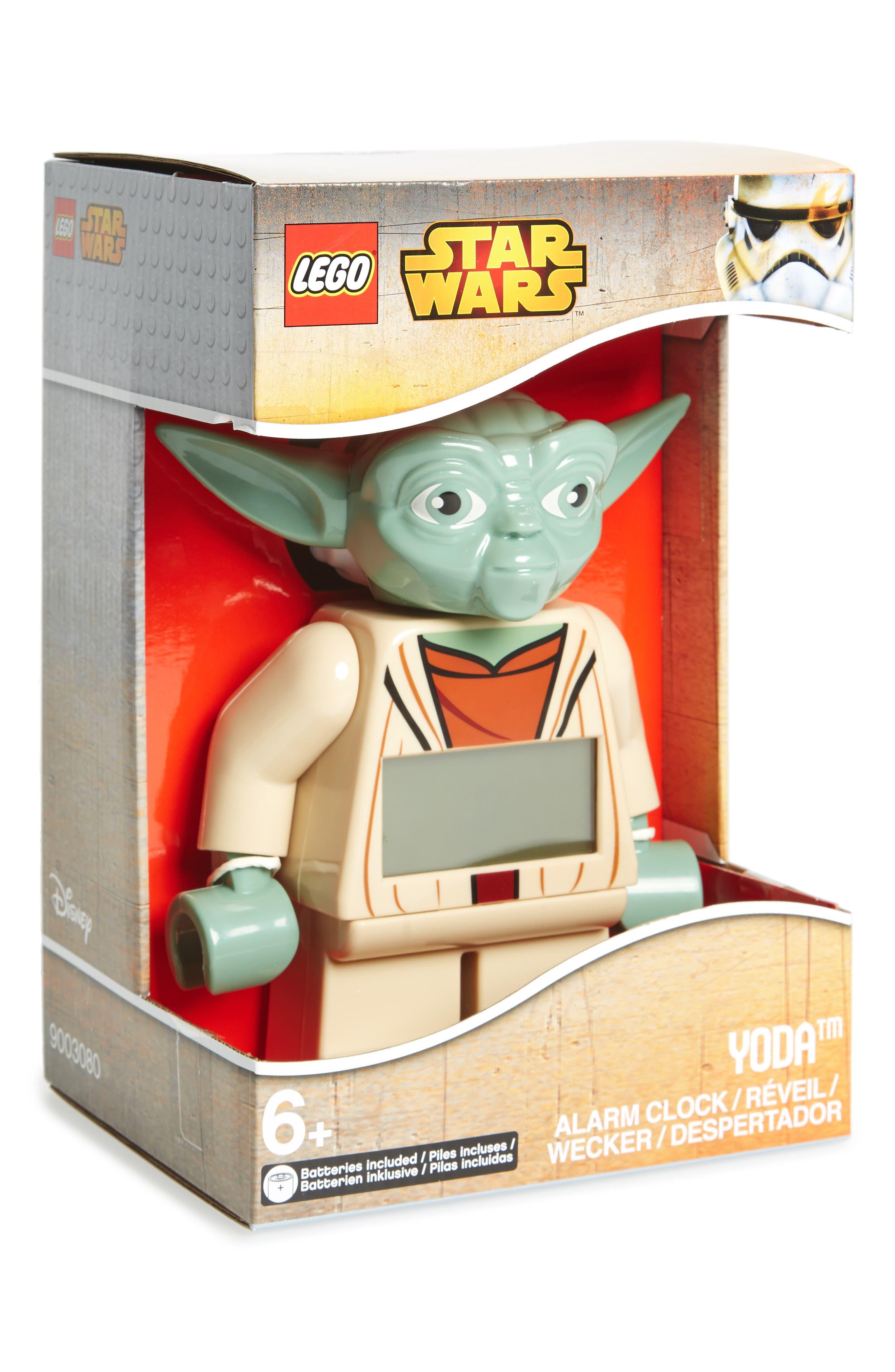 'Yoda<sup>™</sup>' Alarm Clock,                             Main thumbnail 1, color,                             000