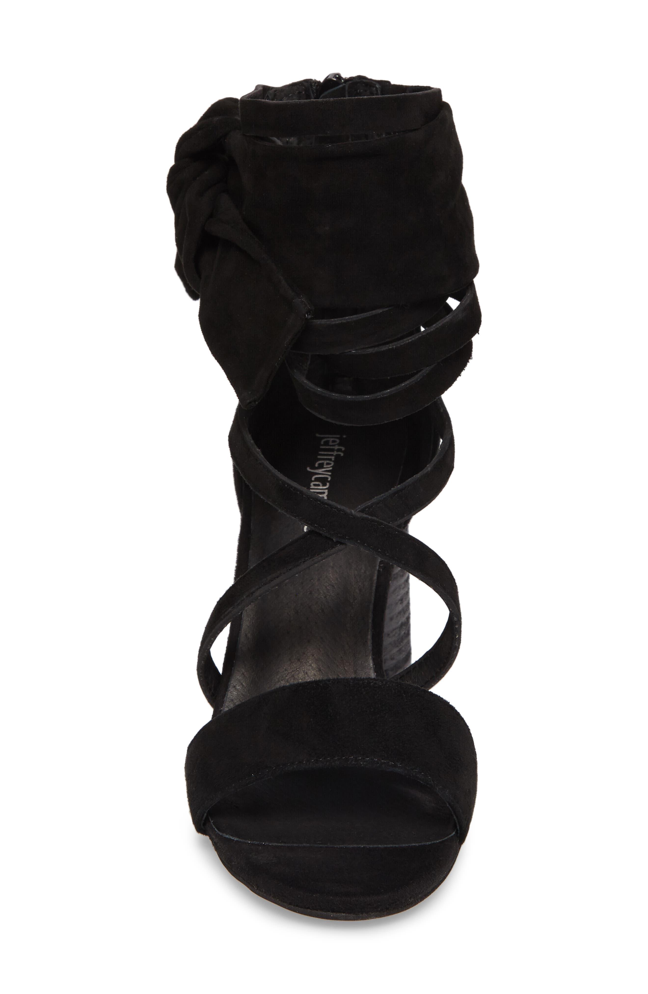 Destini Ankle Cuff Sandal,                             Alternate thumbnail 4, color,                             005