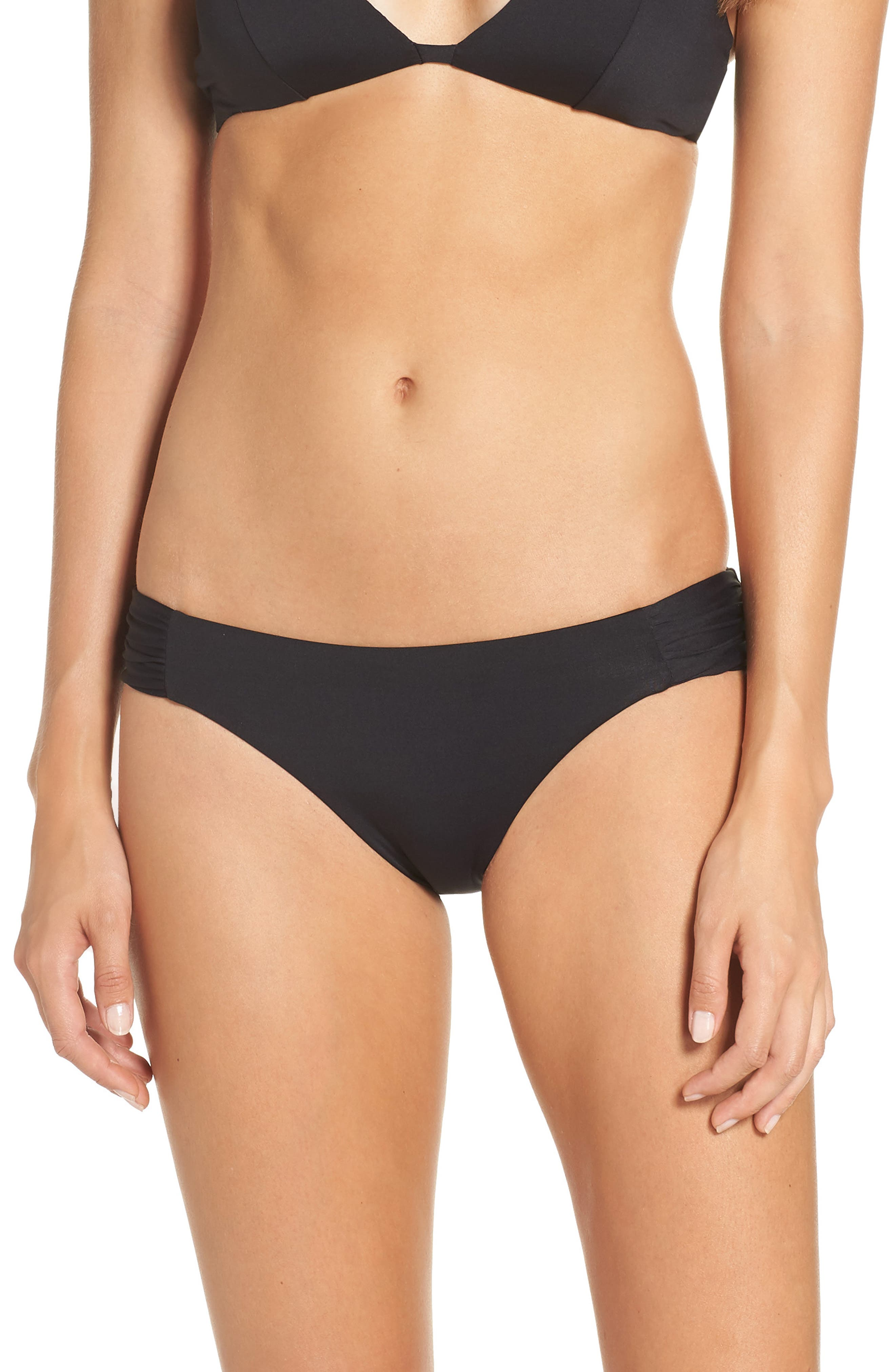 Color Code Bikini Bottoms in Black