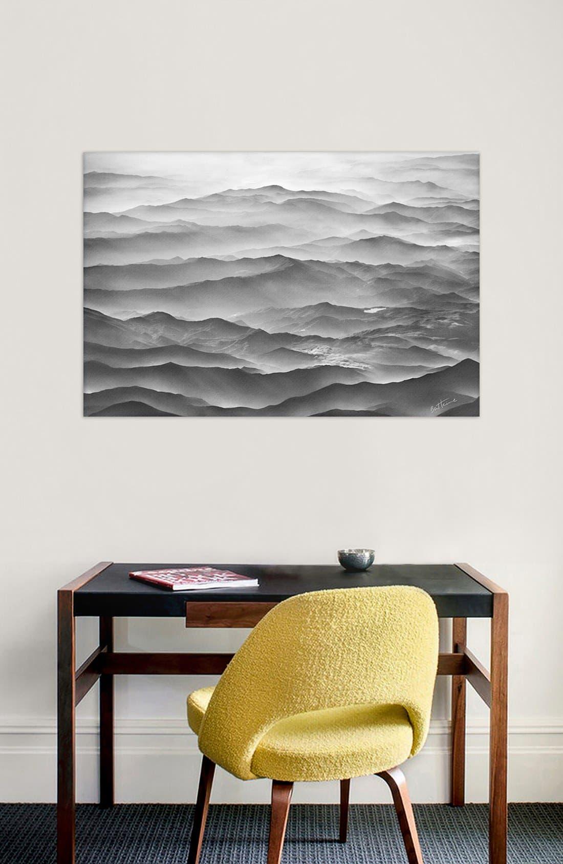 'Ocean Mountains - Ben Heine' Giclée Print Canvas Art,                             Alternate thumbnail 2, color,                             020