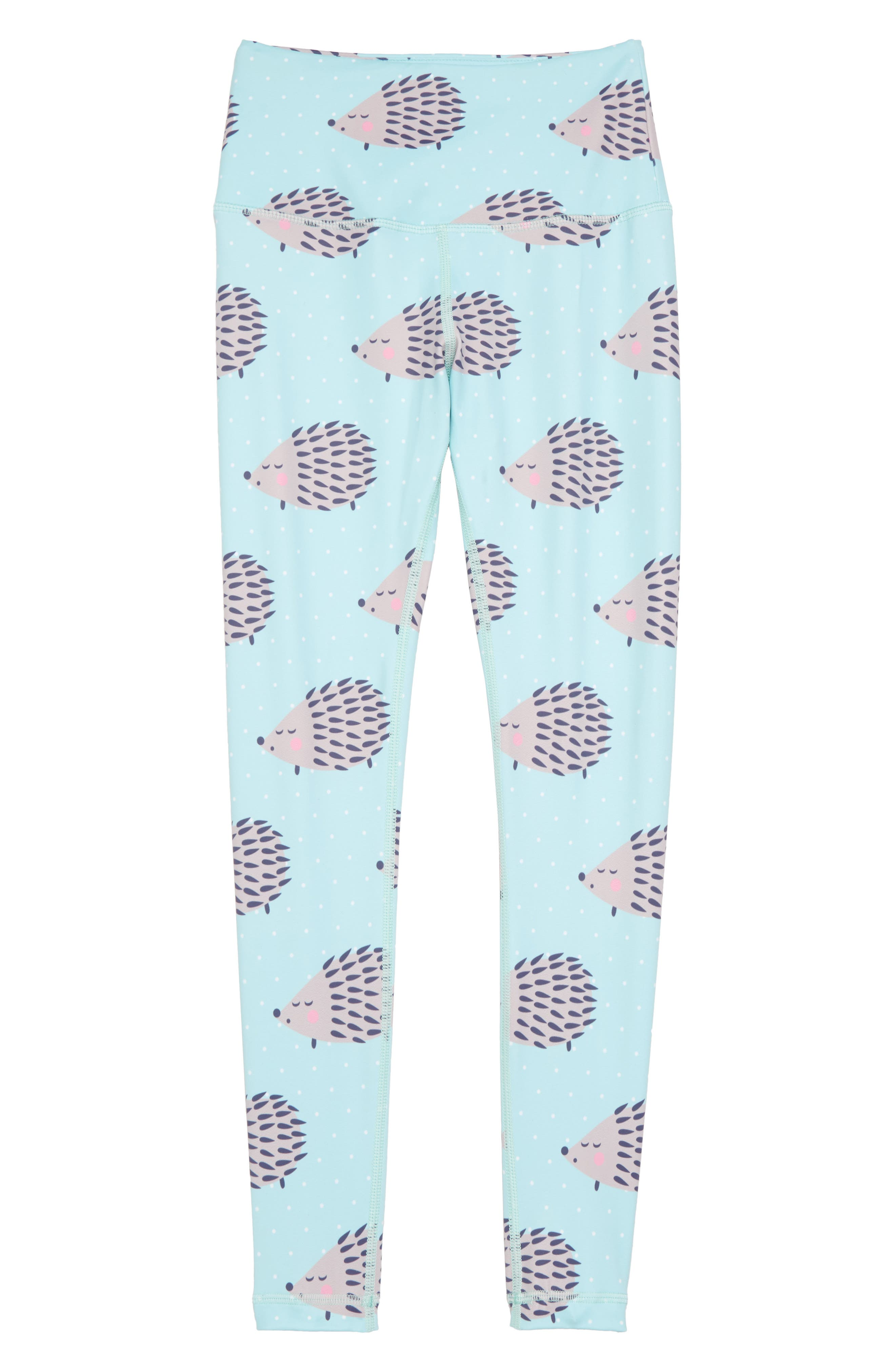 Happy Hedgehog Leggings,                             Main thumbnail 1, color,                             440