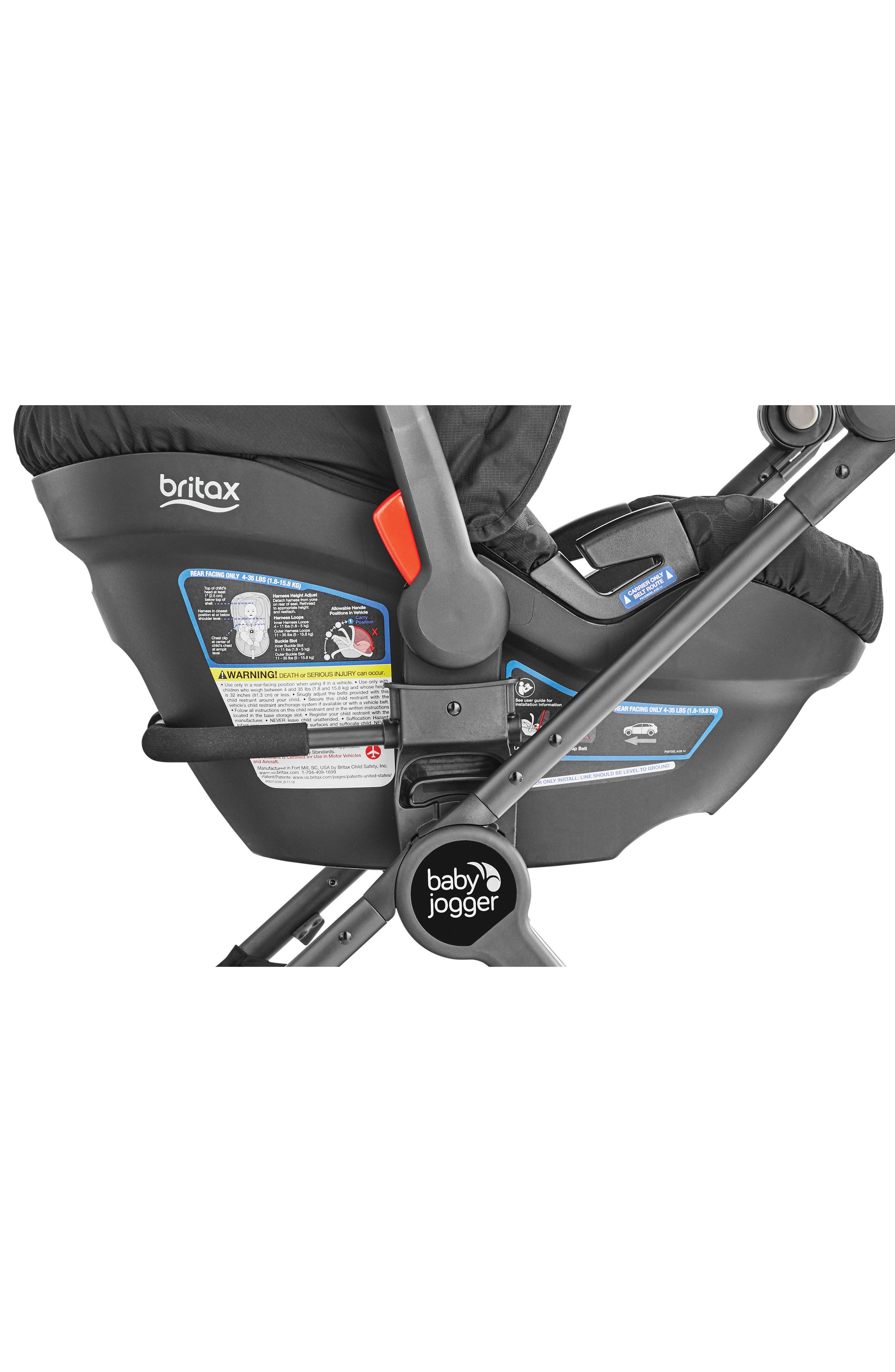 City Tour<sup>™</sup> LUX to Britax Car Seat Adapter,                             Alternate thumbnail 2, color,                             001