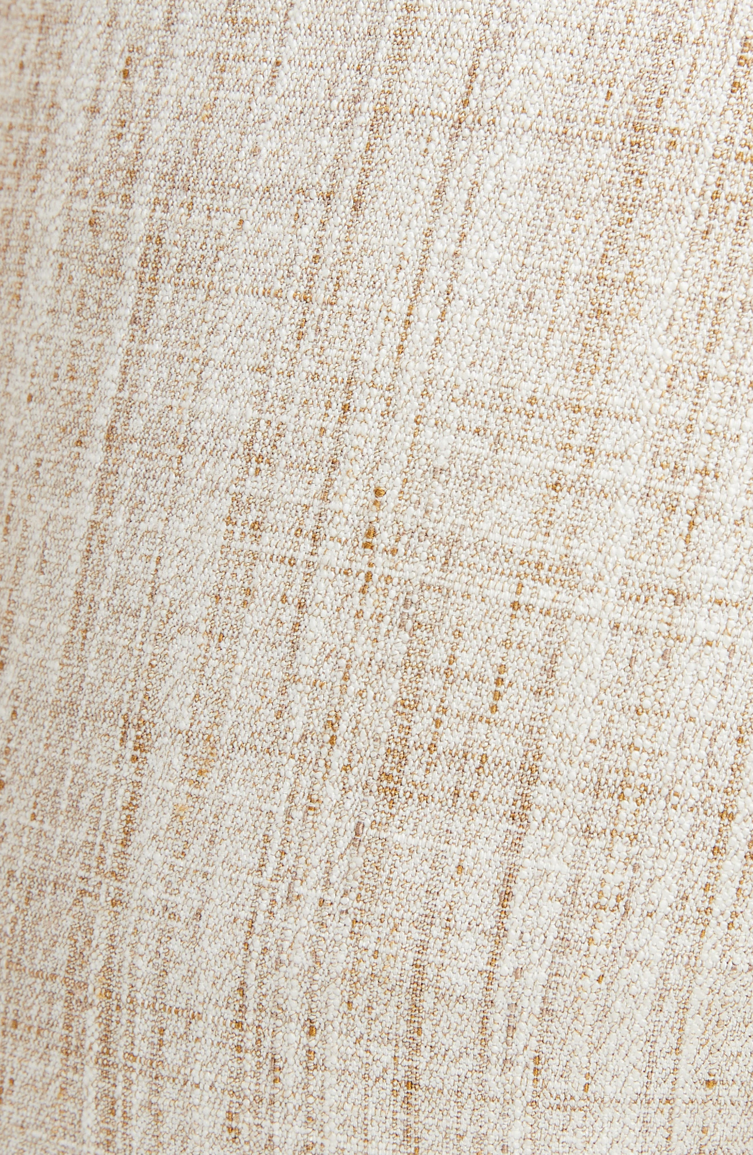 Tweed Slim Leg Trousers,                             Alternate thumbnail 5, color,                             250