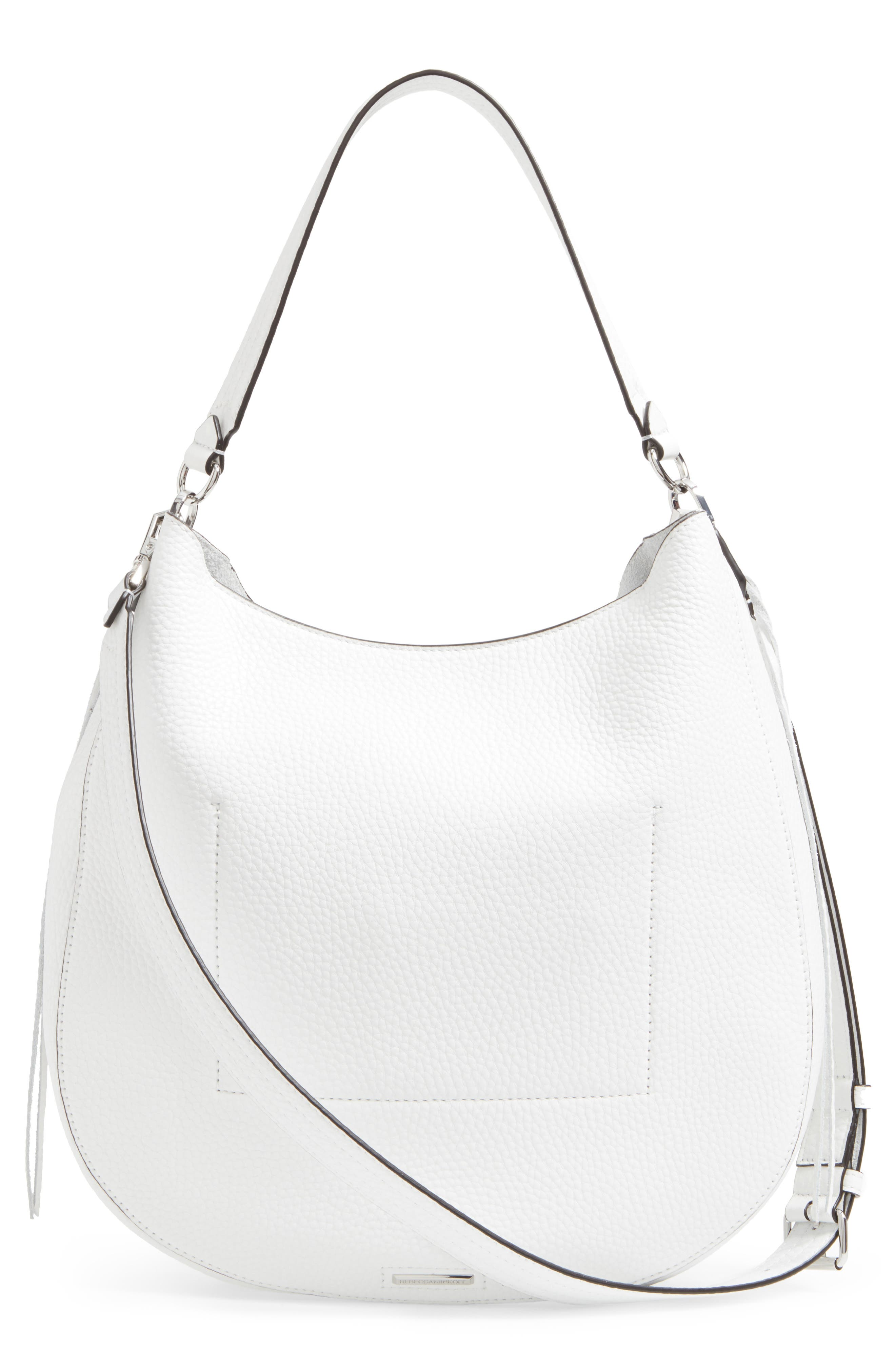 Unlined Convertible Whipstitch Hobo,                             Alternate thumbnail 17, color,