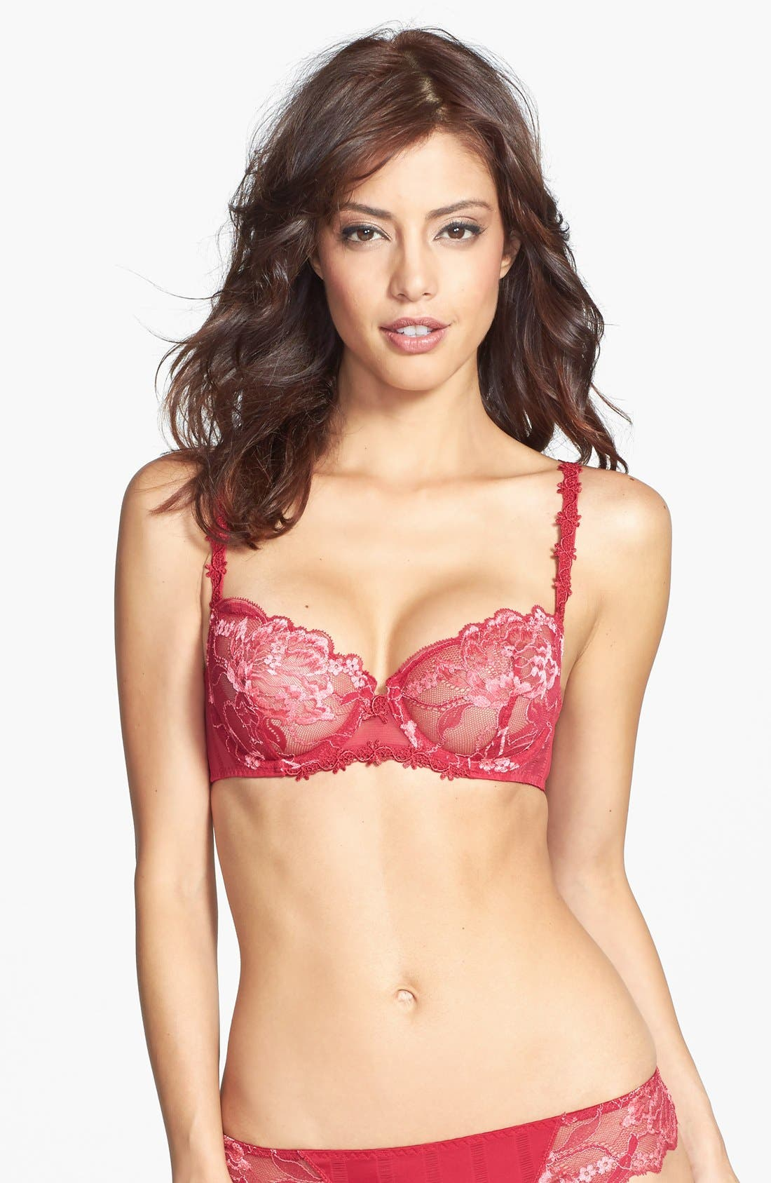 'Amour' Underwire Demi Bra,                             Main thumbnail 9, color,