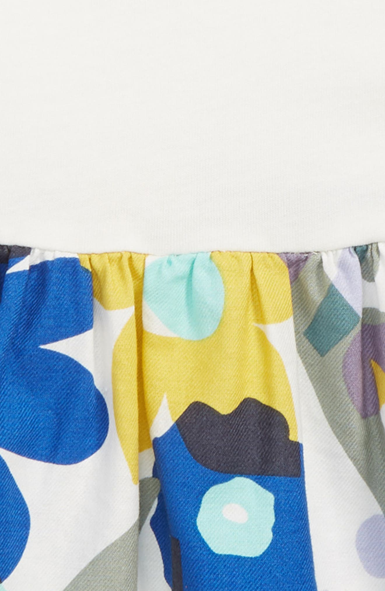 Two-Tone Dress,                             Alternate thumbnail 2, color,                             MARINA FLORAL