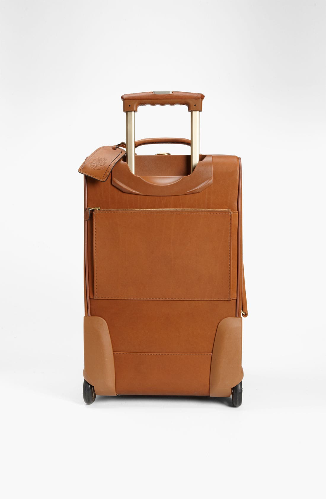 'Pontoon II' Leather Carry-On Suitcase,                             Alternate thumbnail 3, color,                             260