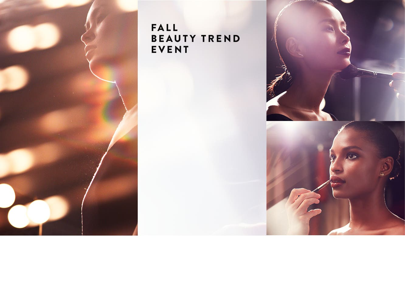 Fall Beauty Trend Event.