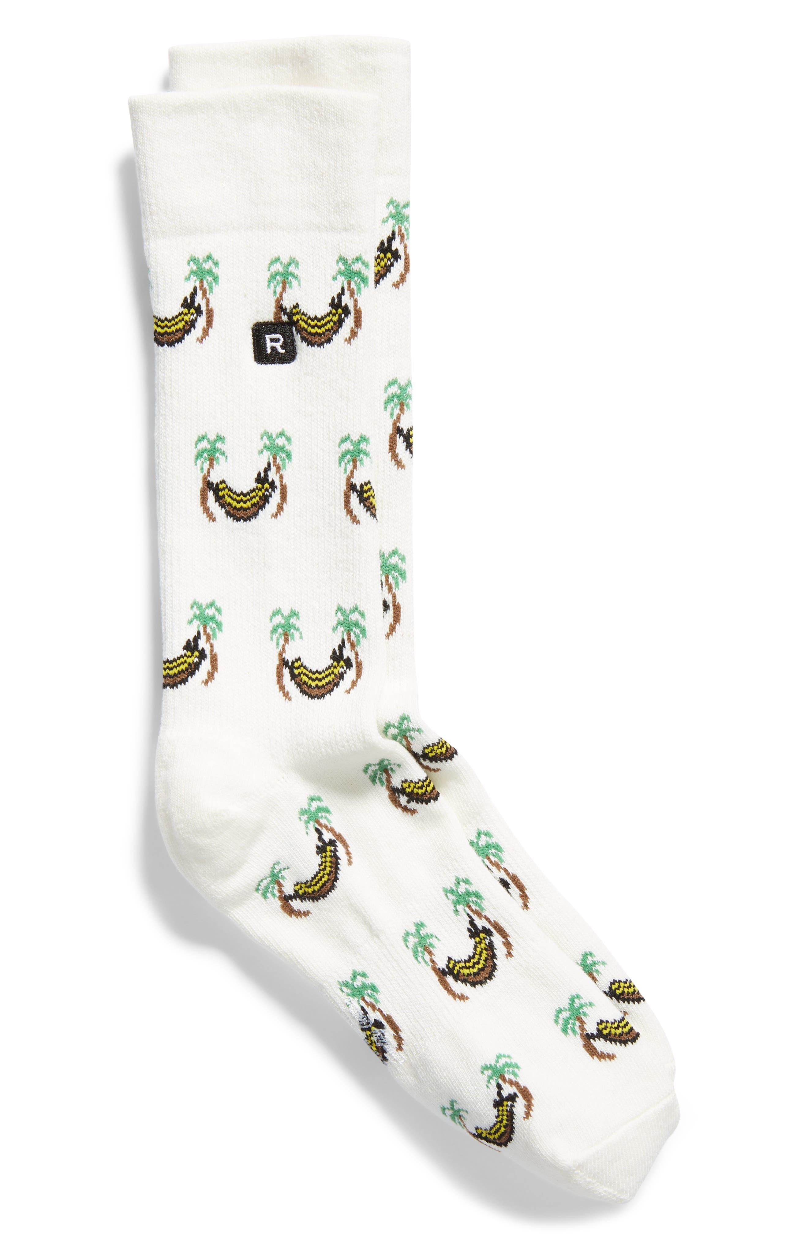 RICHER POORER Hammock Everyday Crew Socks in Ivory
