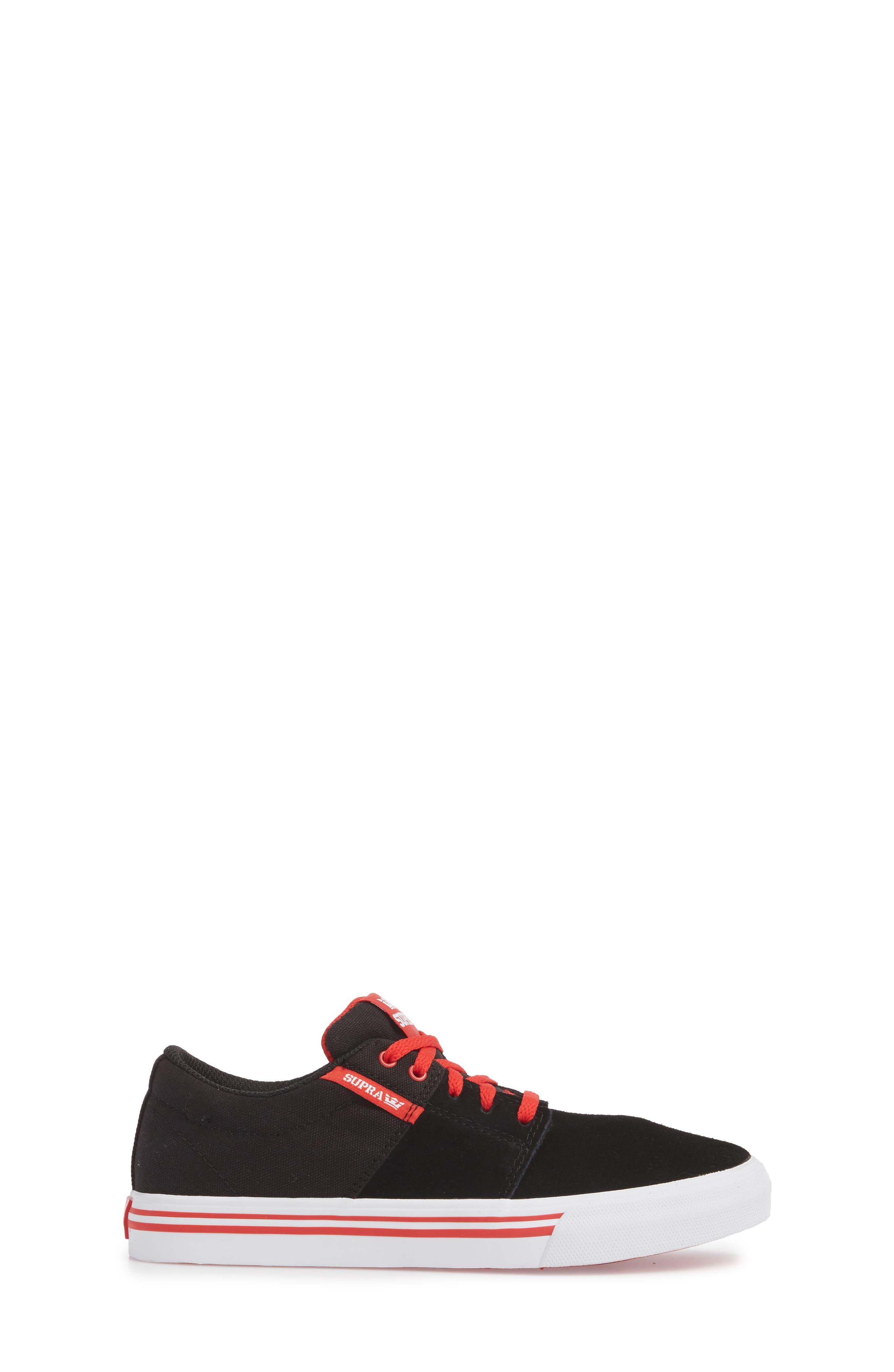 'Stacks Vulc II' Low Top Sneaker,                             Alternate thumbnail 3, color,                             002