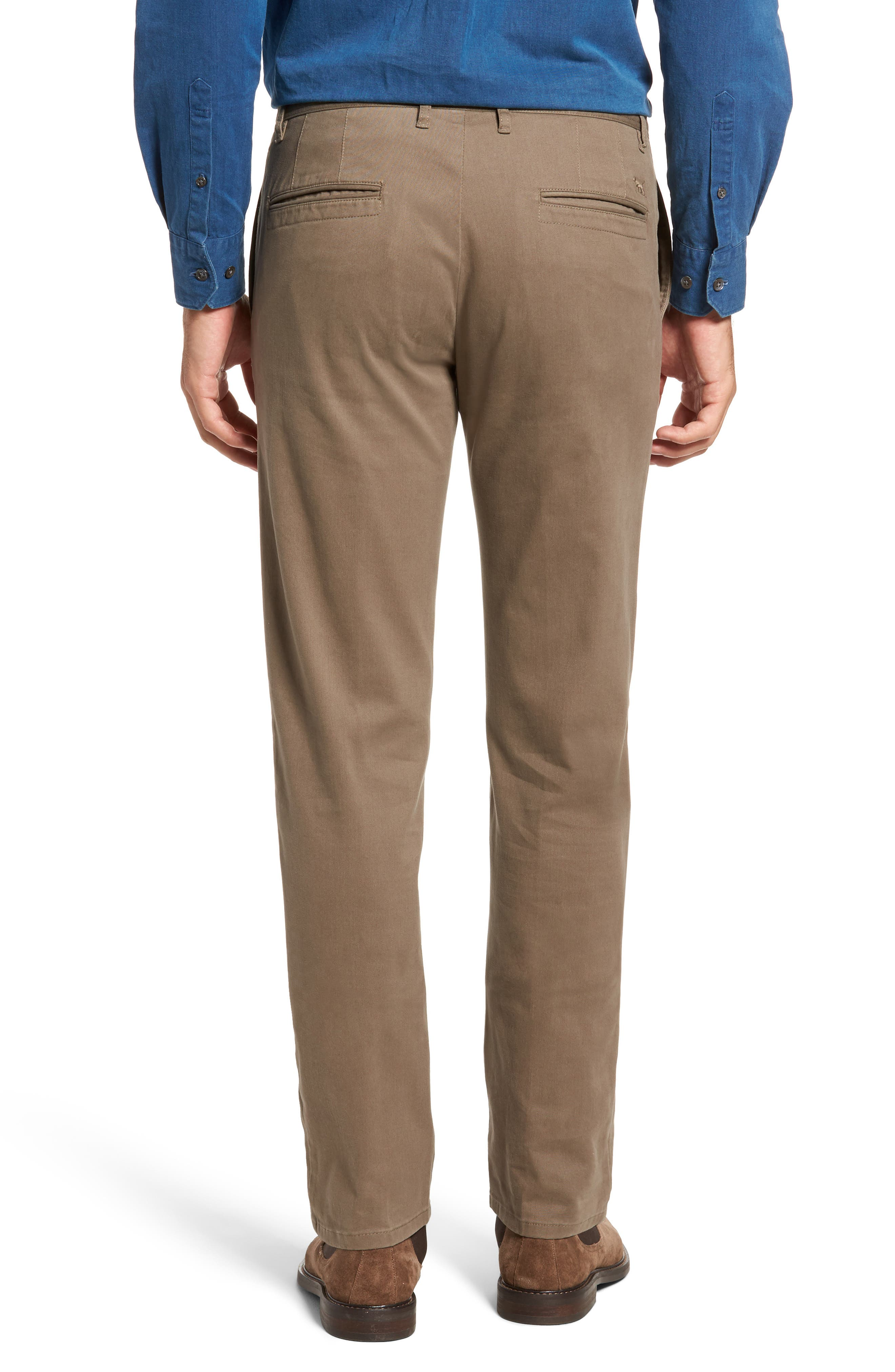Stanely Brook Custom Fit Chinos,                             Alternate thumbnail 2, color,                             TAUPE