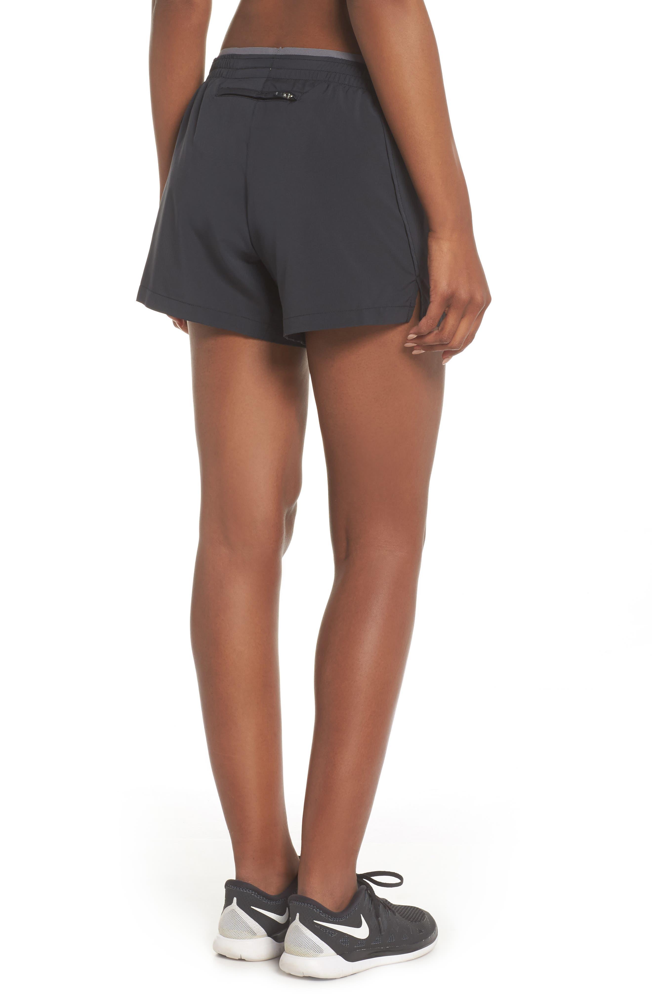 Flex 5-Inch Inseam Running Shorts,                             Alternate thumbnail 2, color,                             BLACK/ GUNSMOKE