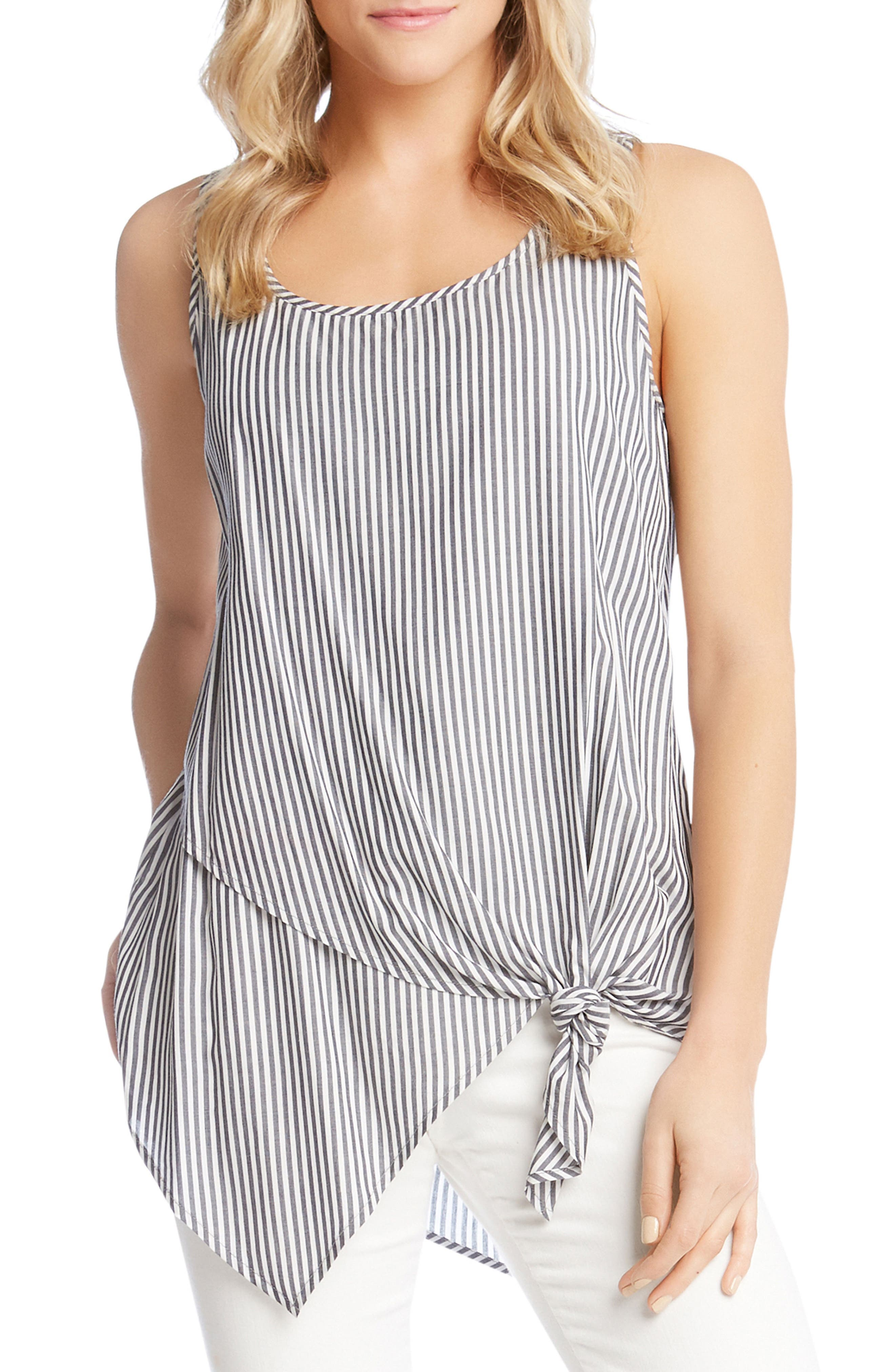 Kane Kane Asymmetrical Knotted Top,                         Main,                         color, 489