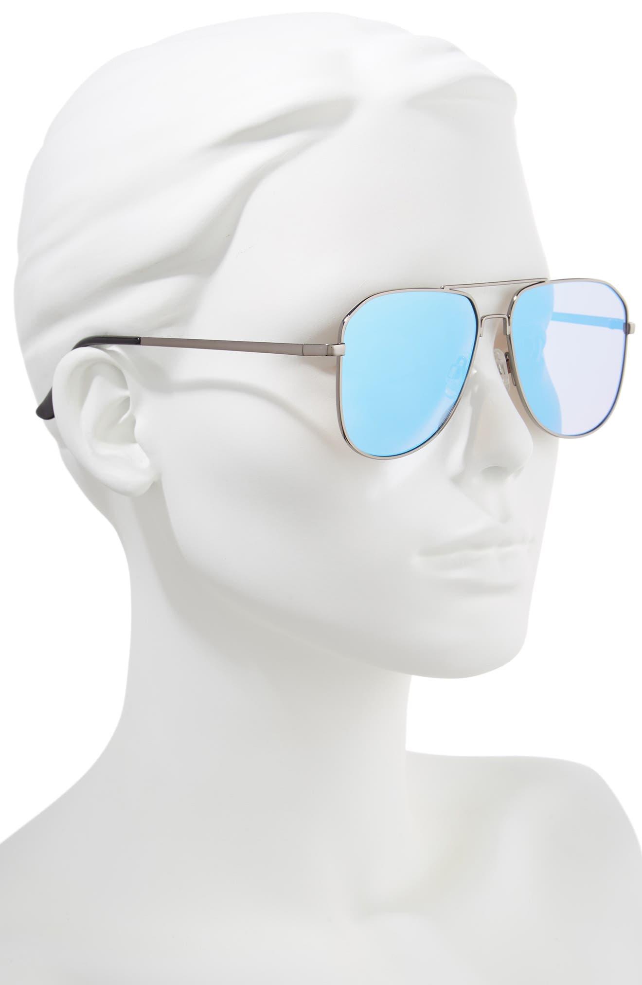 54mm Aviator Sunglasses,                             Alternate thumbnail 2, color,                             040