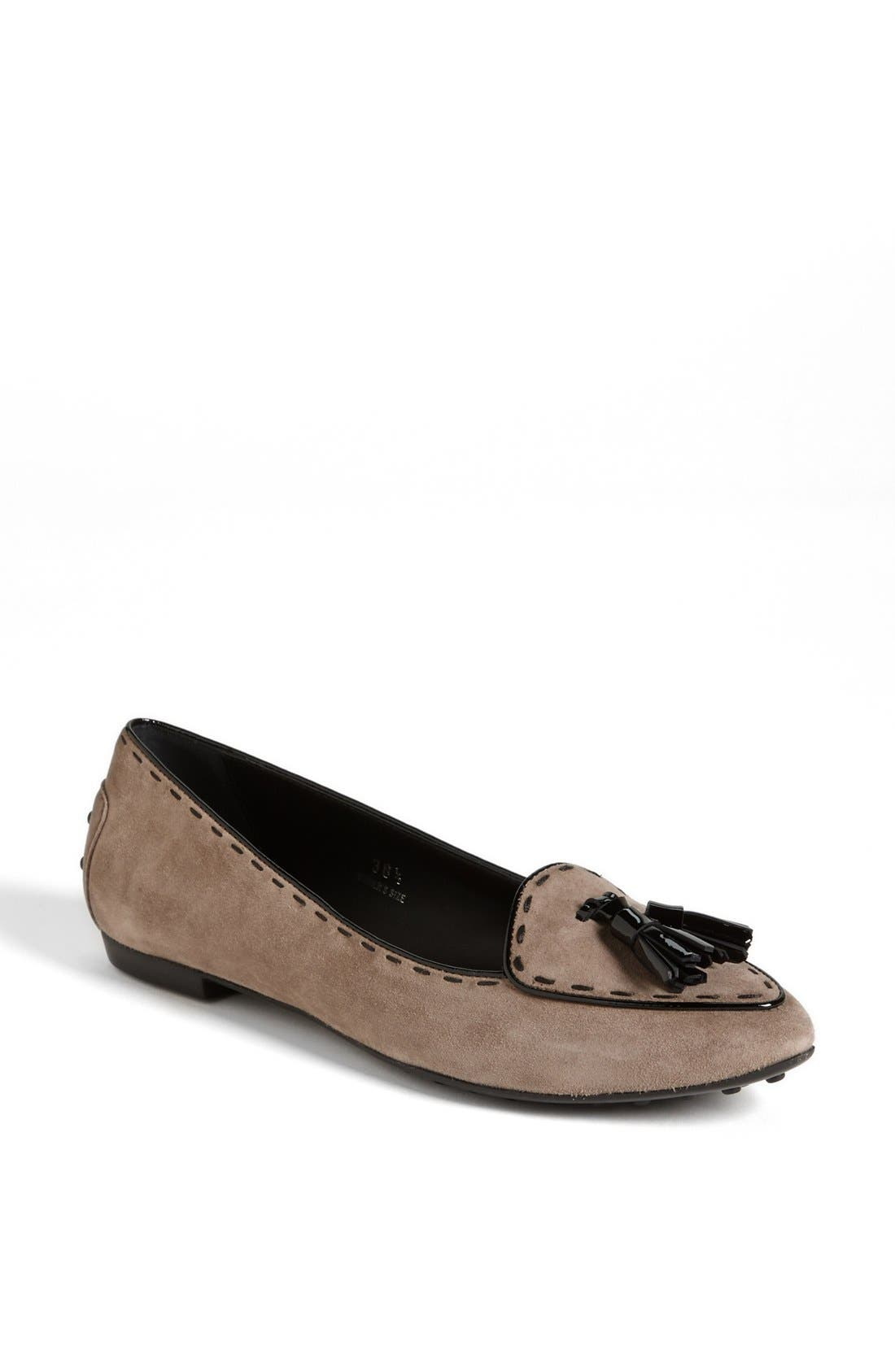 'Belgium' Ballet Flat, Main, color, 020