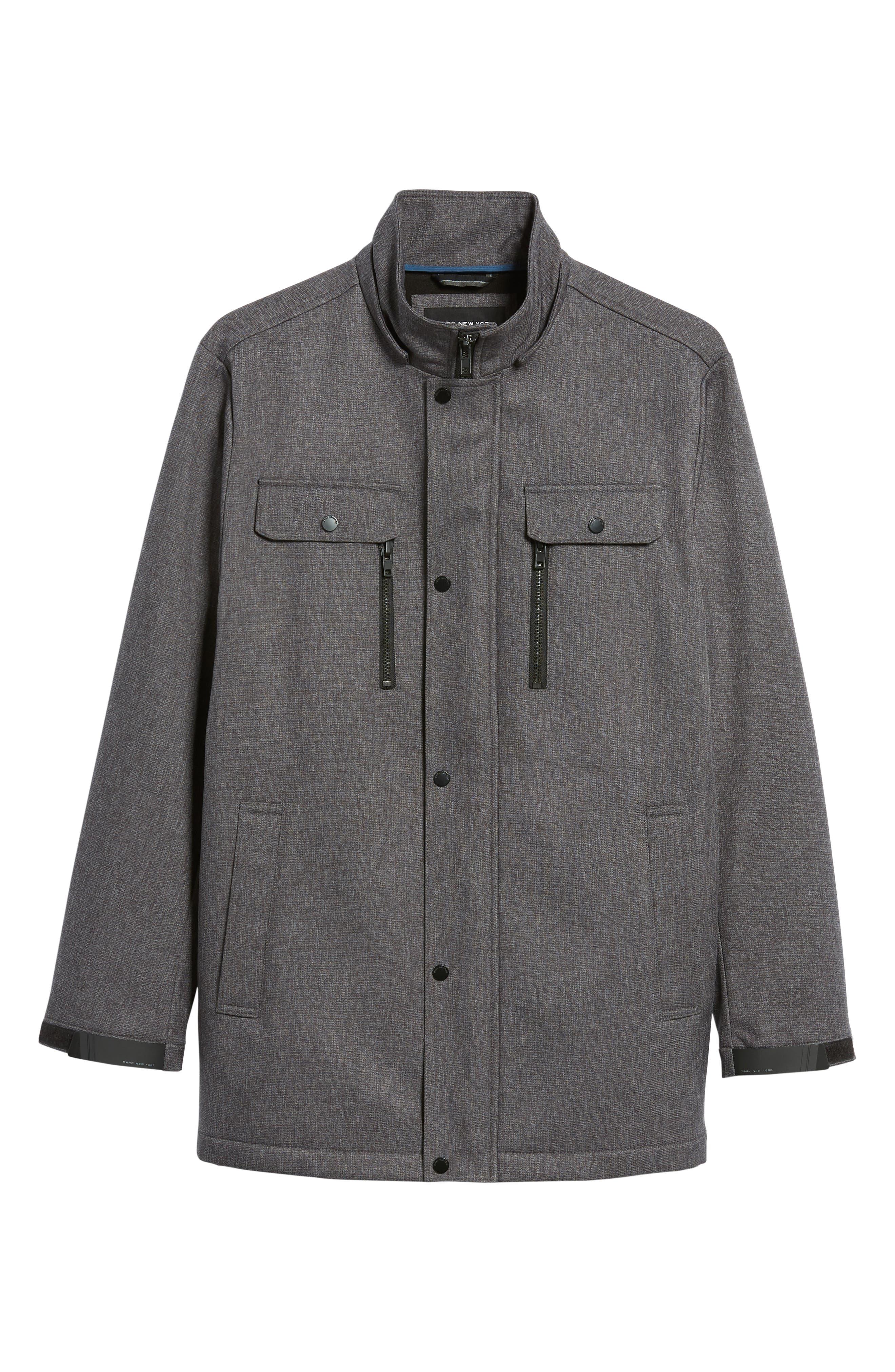 Doyle Soft Shell Jacket,                             Alternate thumbnail 5, color,                             001