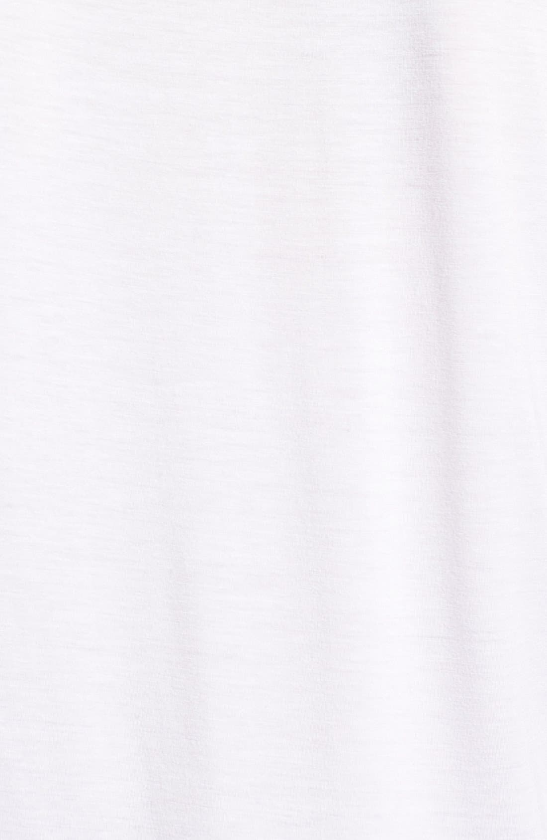 'Bess' Stretch Jersey Boatneck Tee,                             Alternate thumbnail 15, color,