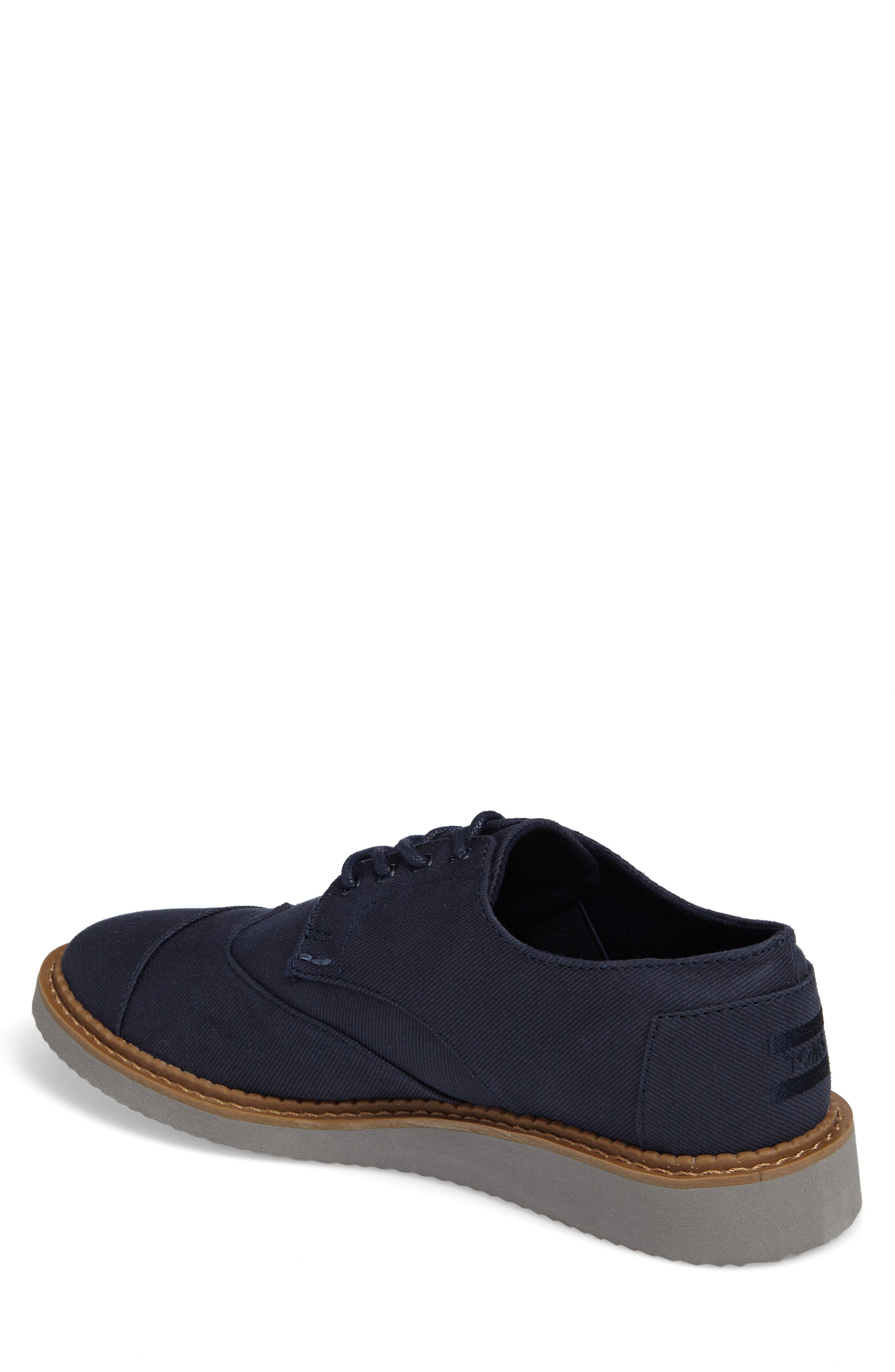 'Classic Brogue' Cotton Twill Derby,                             Alternate thumbnail 29, color,