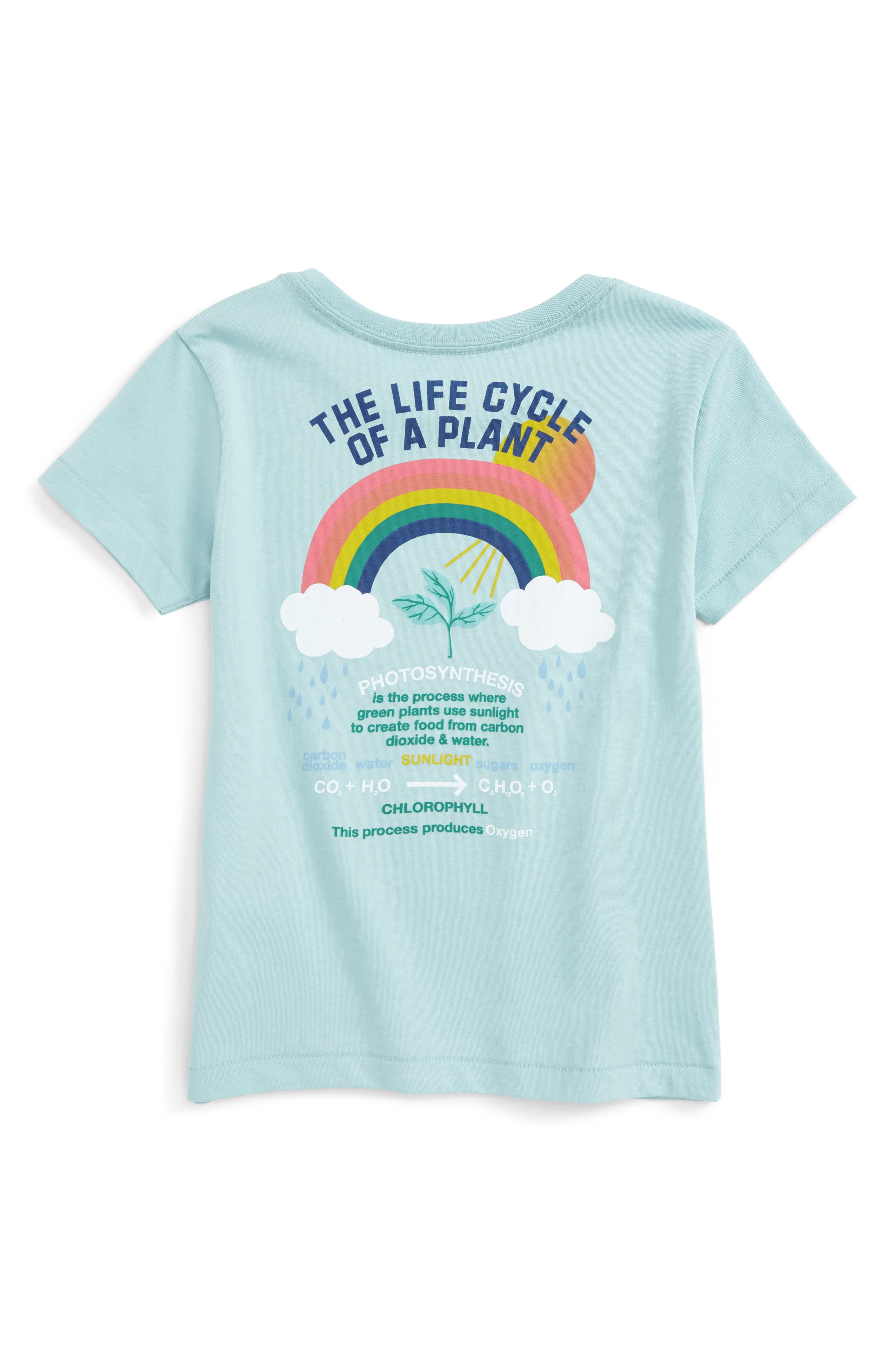 Grow with the Flow Graphic Tee,                             Alternate thumbnail 2, color,