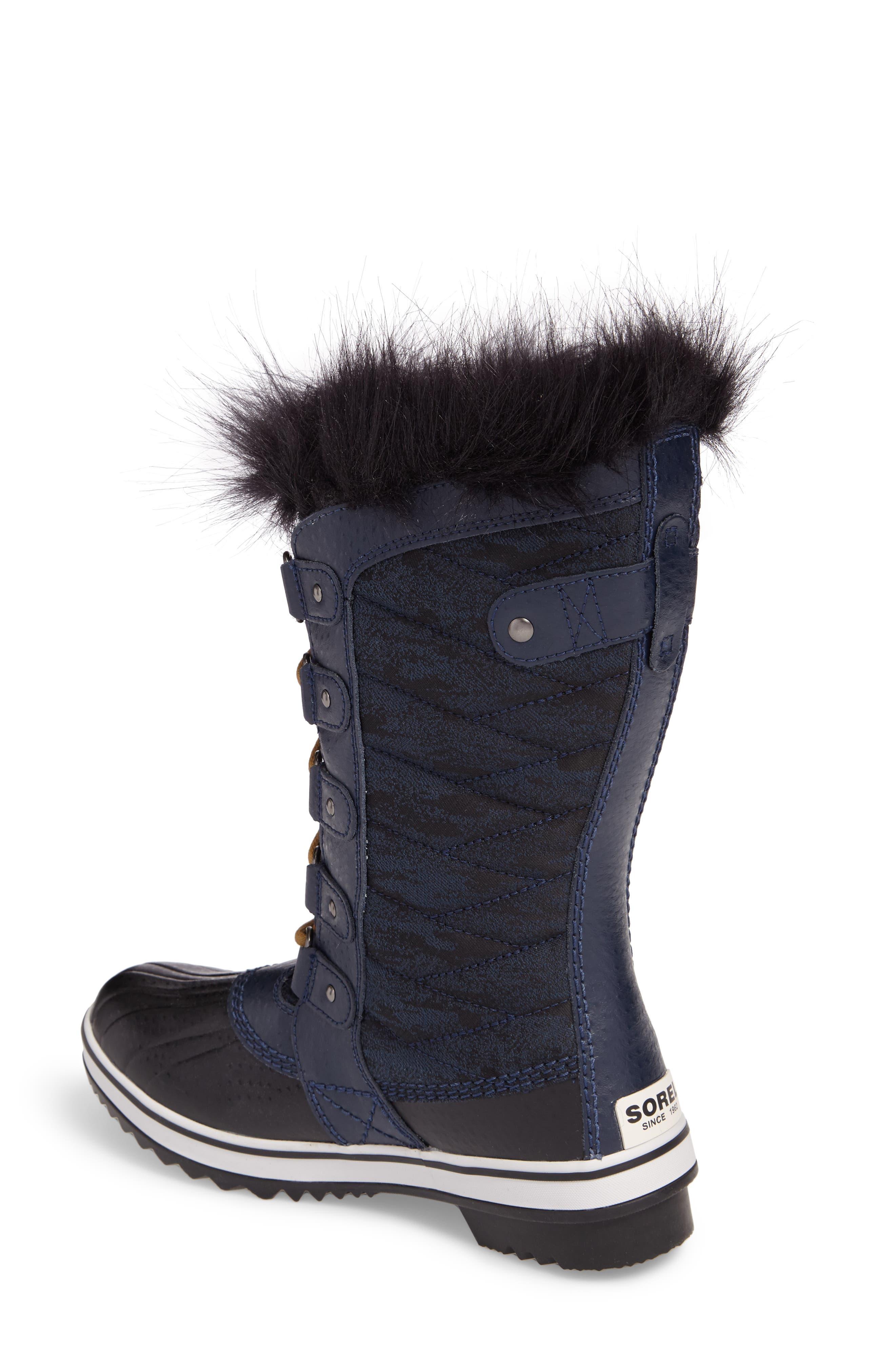 Tofino II Fleece Lined Waterproof Boot,                             Alternate thumbnail 2, color,