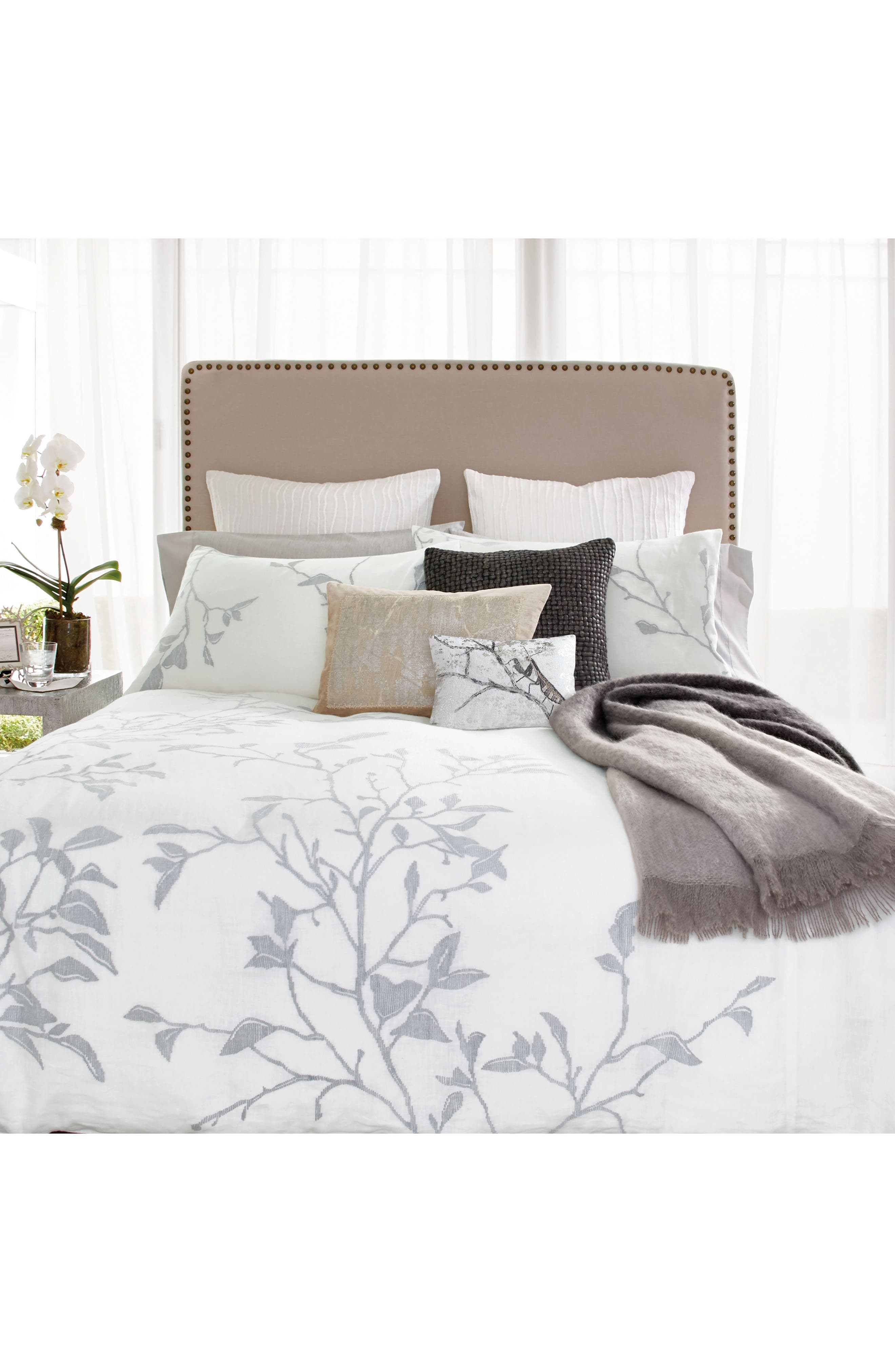 Branch Duvet Cover,                             Alternate thumbnail 5, color,