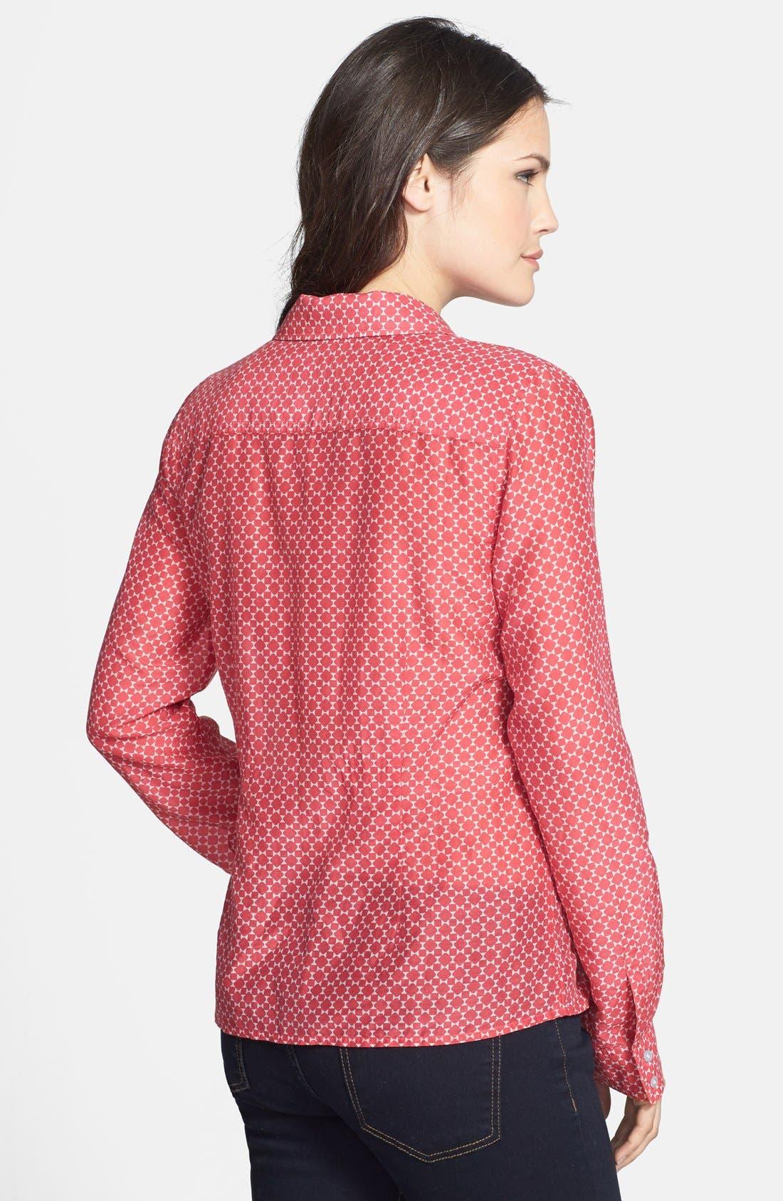 Cotton & Silk Shirt,                             Alternate thumbnail 79, color,