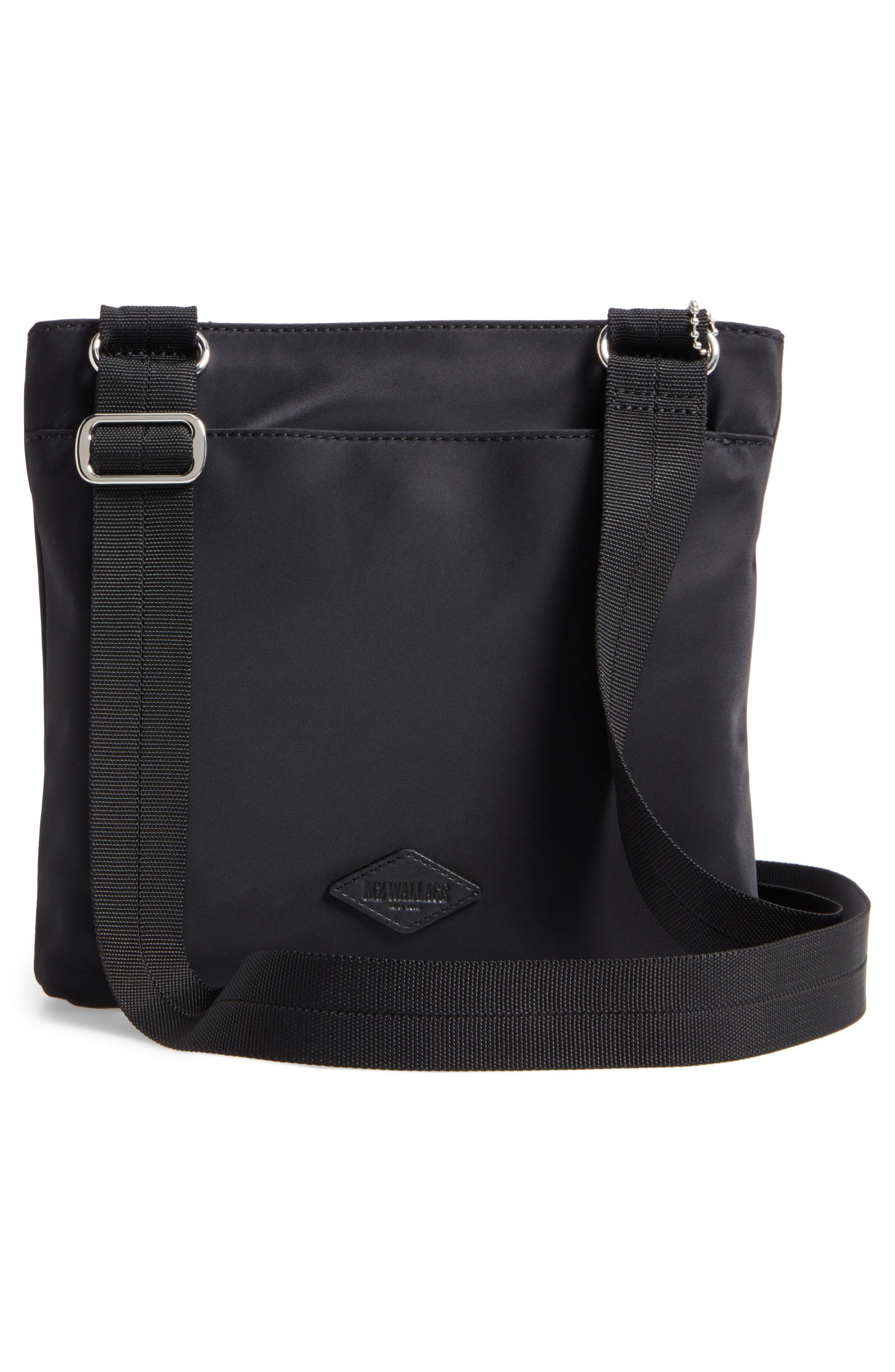 Jordan Bedford Nylon Crossbody Bag,                             Alternate thumbnail 3, color,                             008