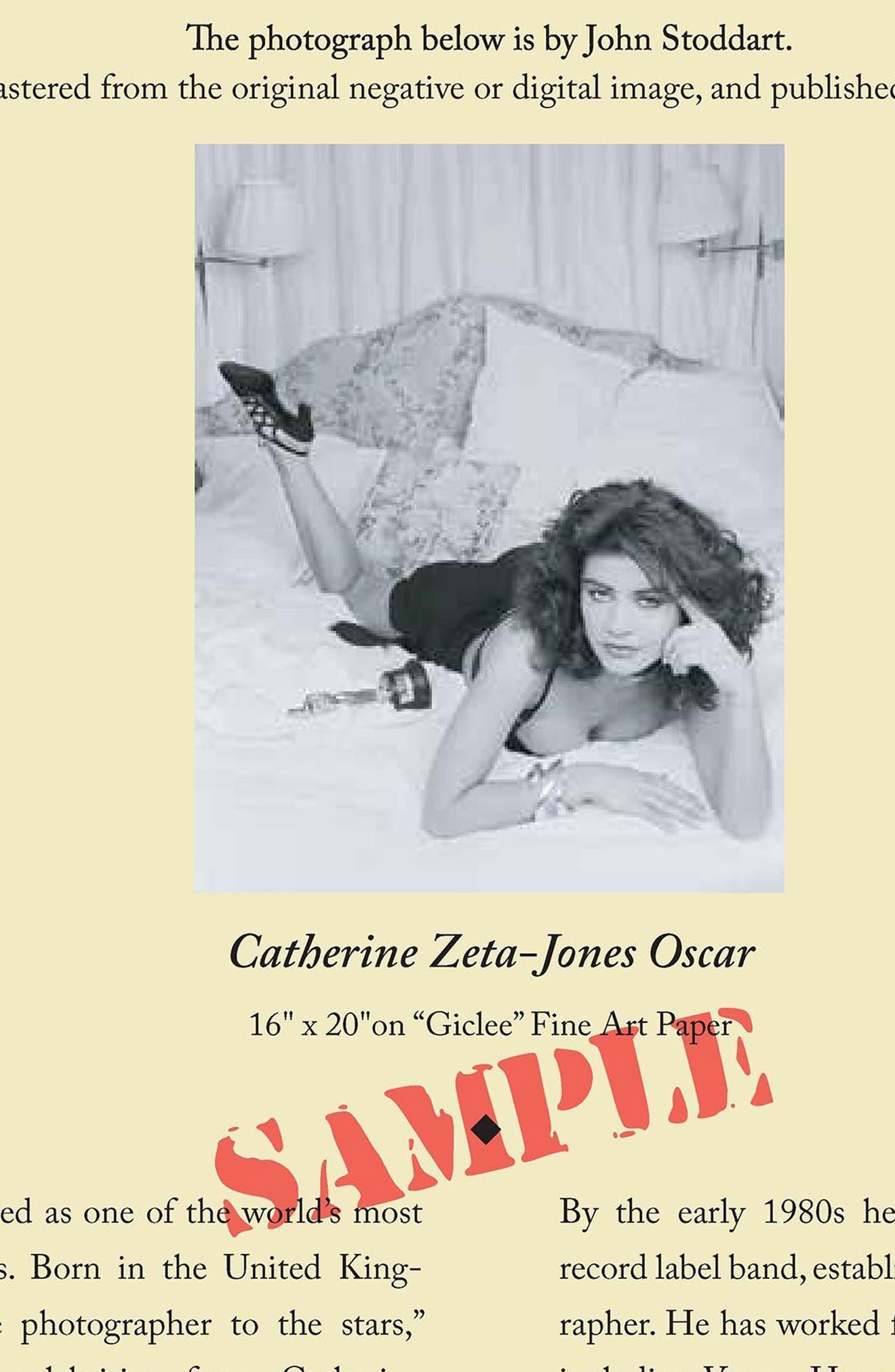 Catherine Zeta Jones Fine Art Print,                             Alternate thumbnail 2, color,                             001