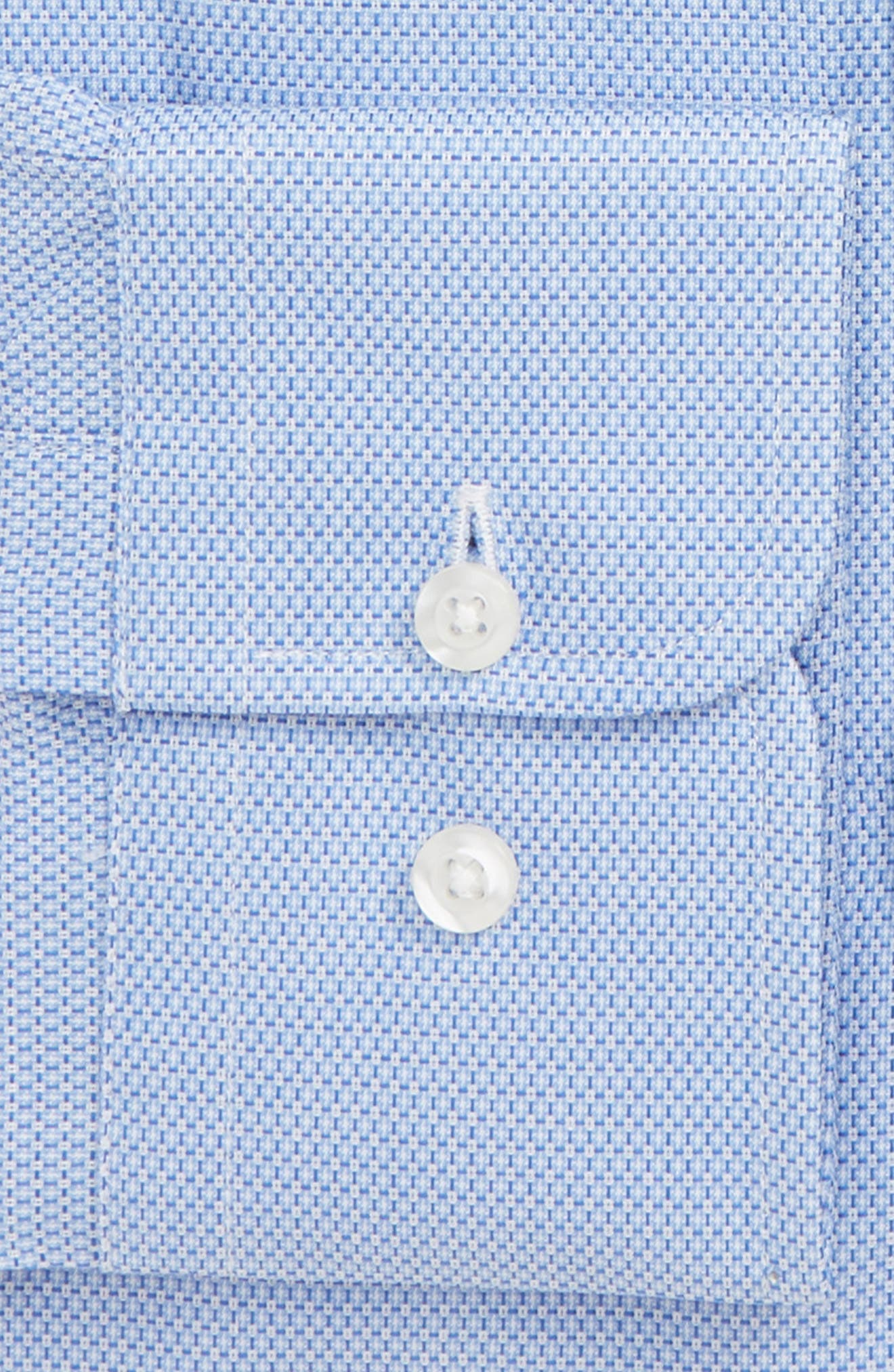 Regular Fit Check Dress Shirt,                             Alternate thumbnail 2, color,                             BLUE