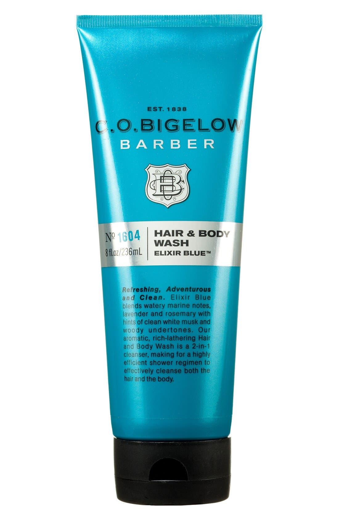 'Barber - Elixir Blue' Hair & Body Wash,                             Main thumbnail 3, color,