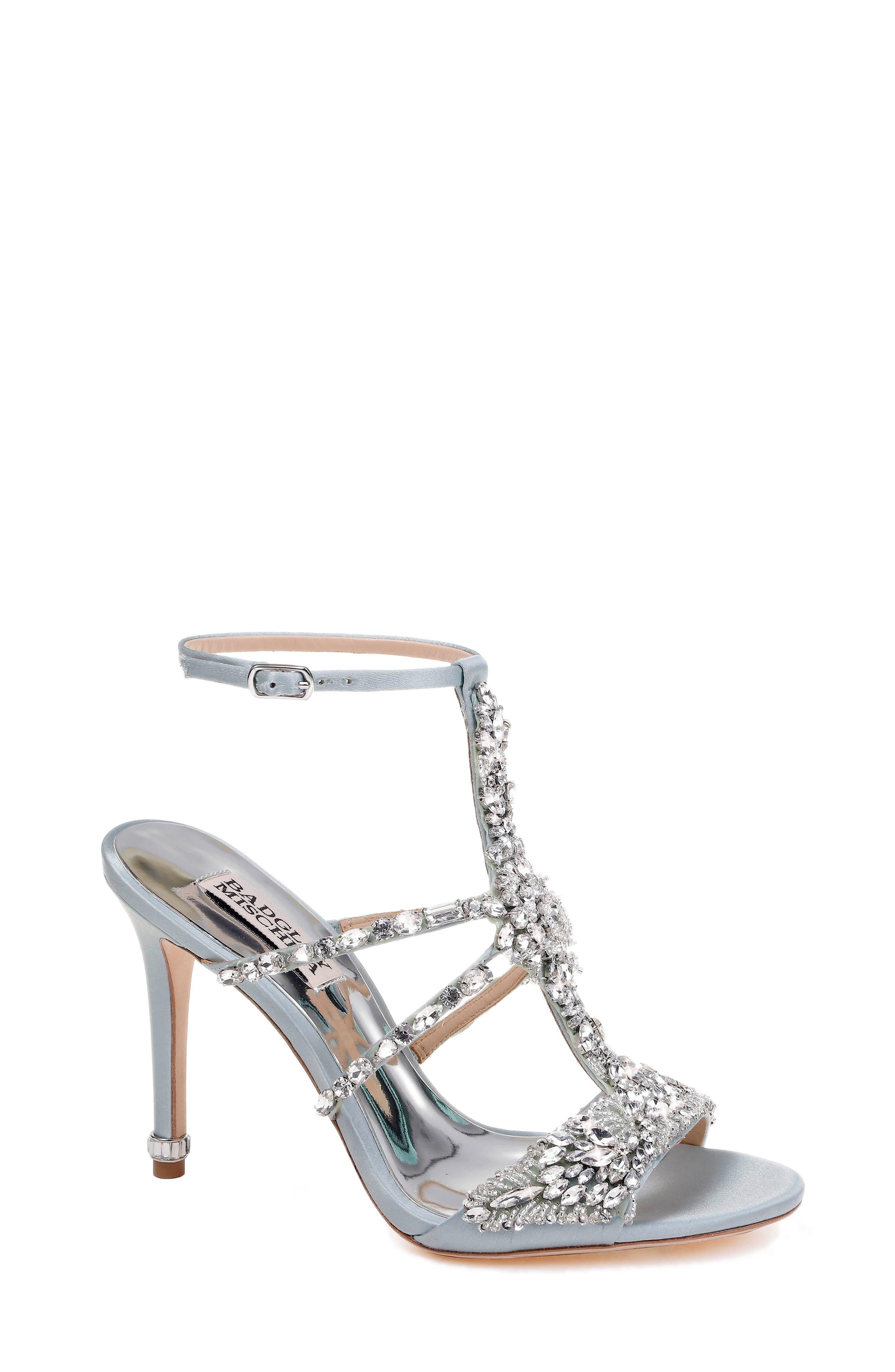 Hughes Crystal Embellished Sandal,                             Main thumbnail 3, color,