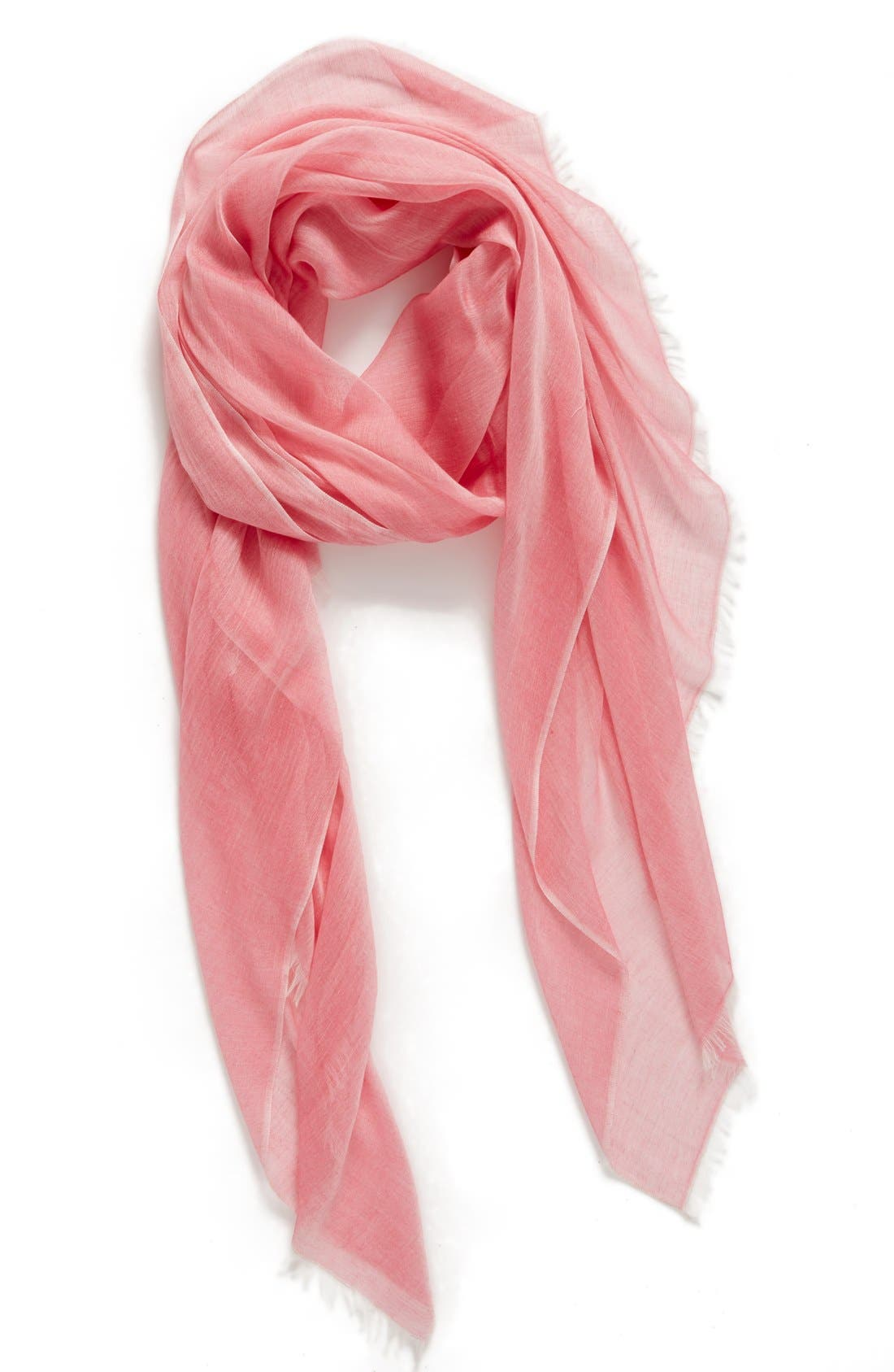 Modal Silk Blend Scarf,                             Main thumbnail 33, color,