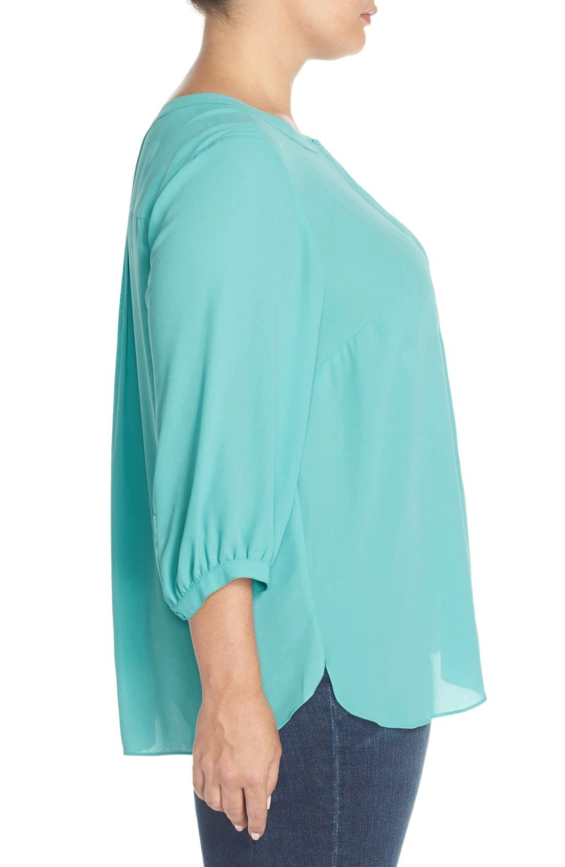 Henley Top,                             Alternate thumbnail 291, color,