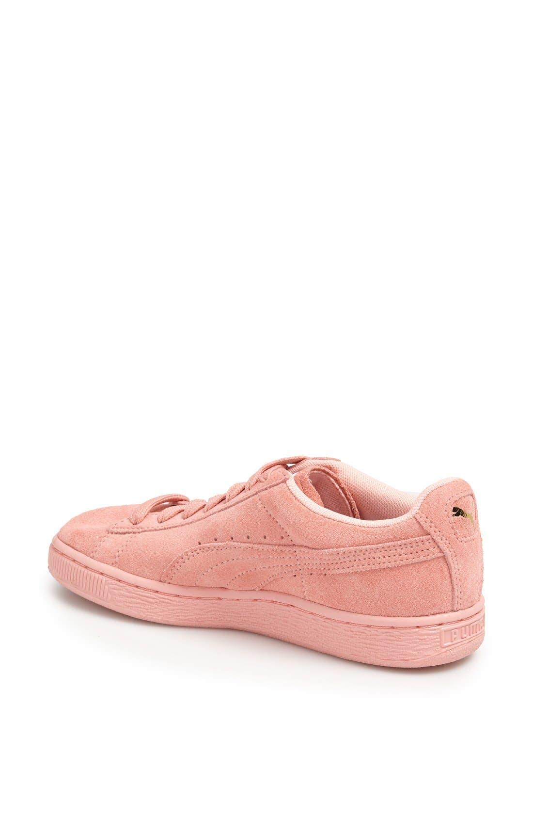 Suede Sneaker,                             Alternate thumbnail 124, color,