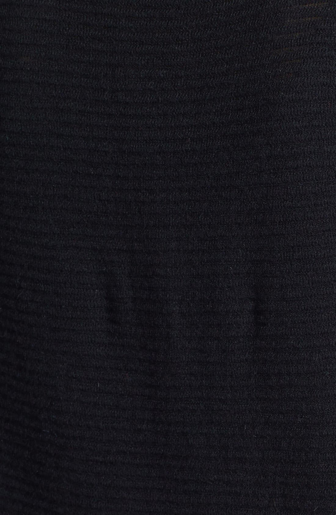 Textured Stripe Lightweight Crewneck Sweater,                             Alternate thumbnail 2, color,                             001